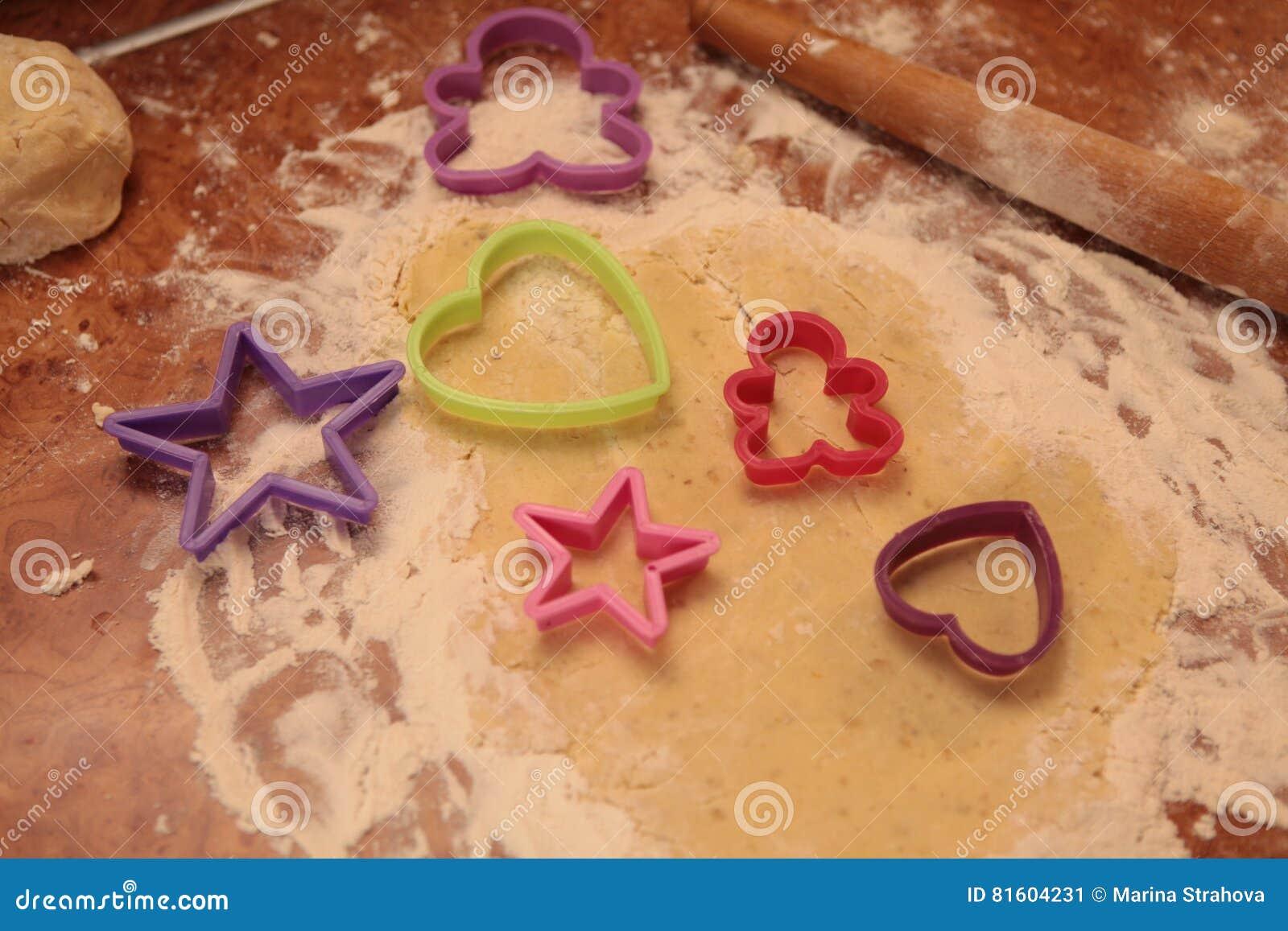 Prepari i biscotti saporiti Concetto  nucleo familiare