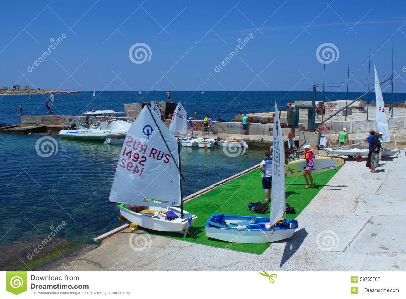 Download Preparing for competition editorial photography. Image of sail - 58755707