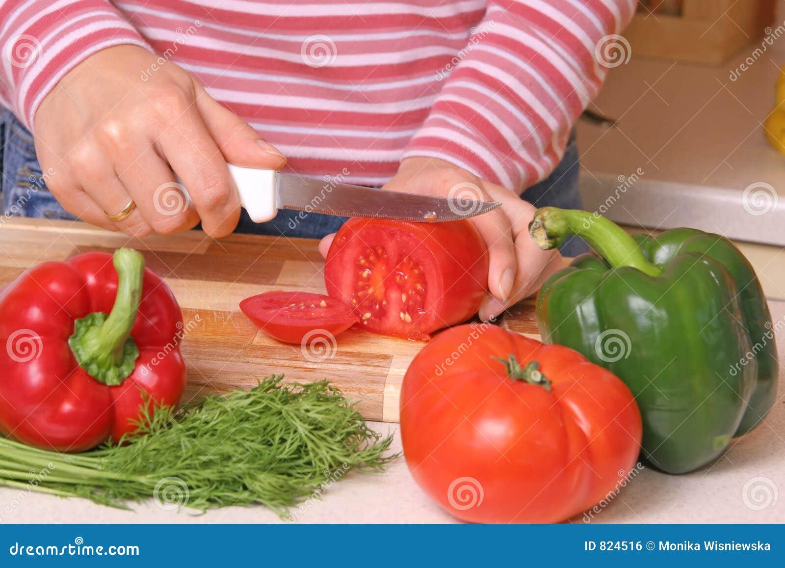 Preparing Food Royalty Free Stock Image - Image: 824516
