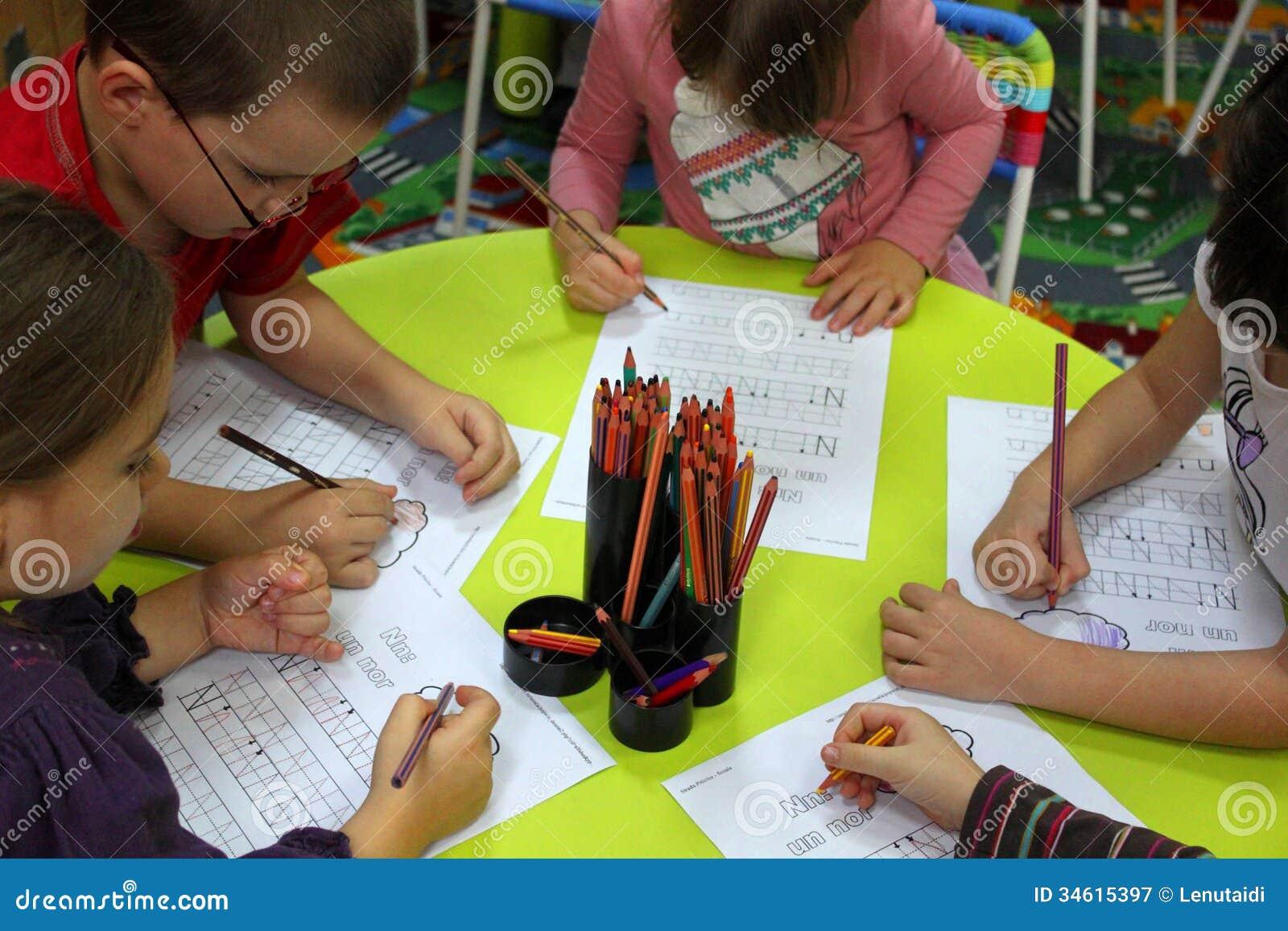 Preschool dzieci w aktywność
