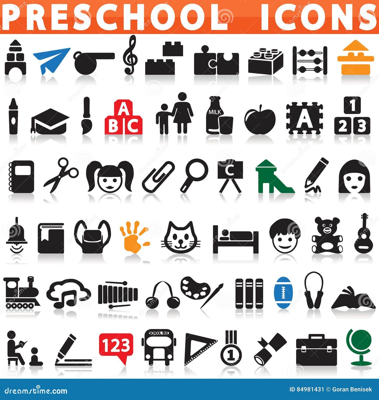 Preschool ikony