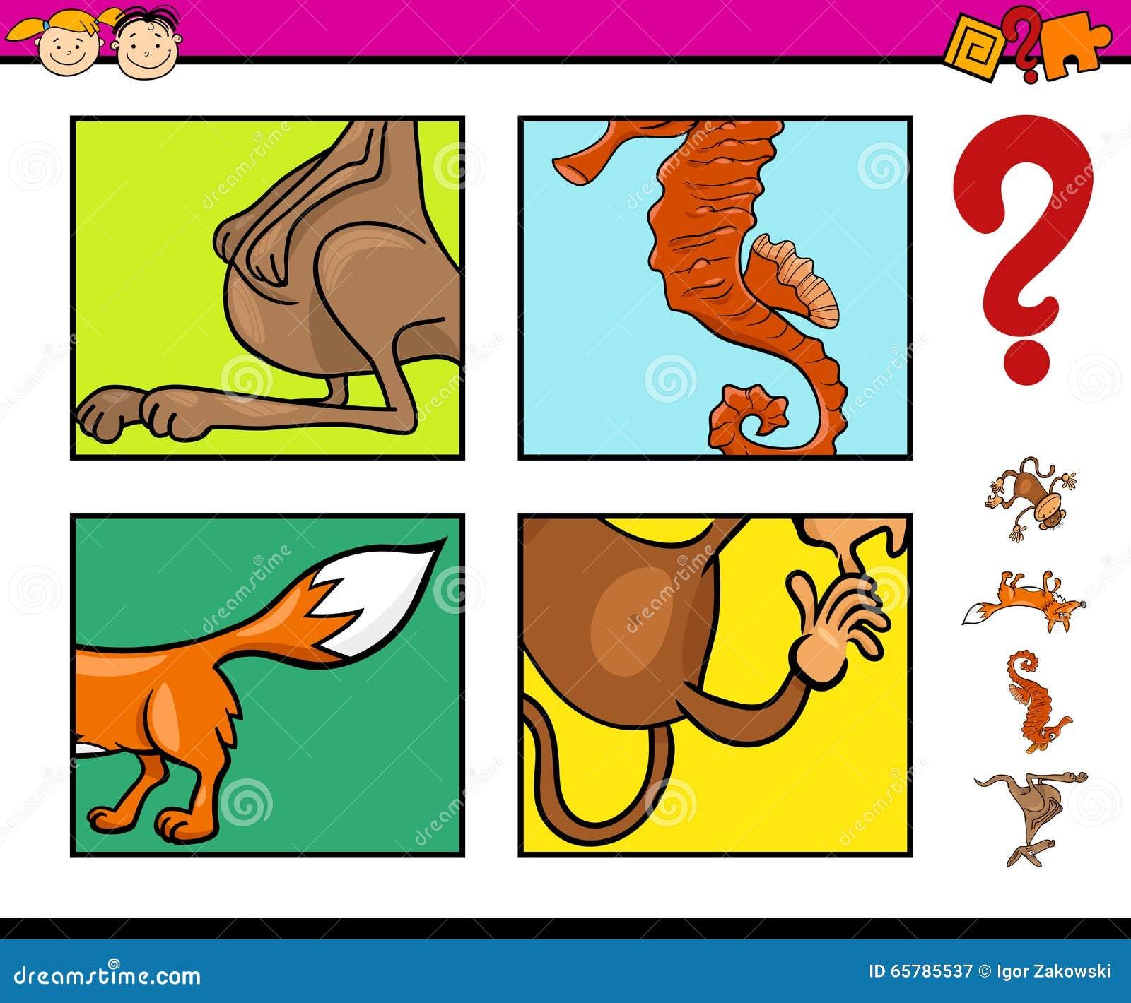 Dream Animals Diagram Manual Guide Wiring Honda Parts Preschool Task With Stock Vector Illustration Of Rh Dreamstime Com Tumblr Running
