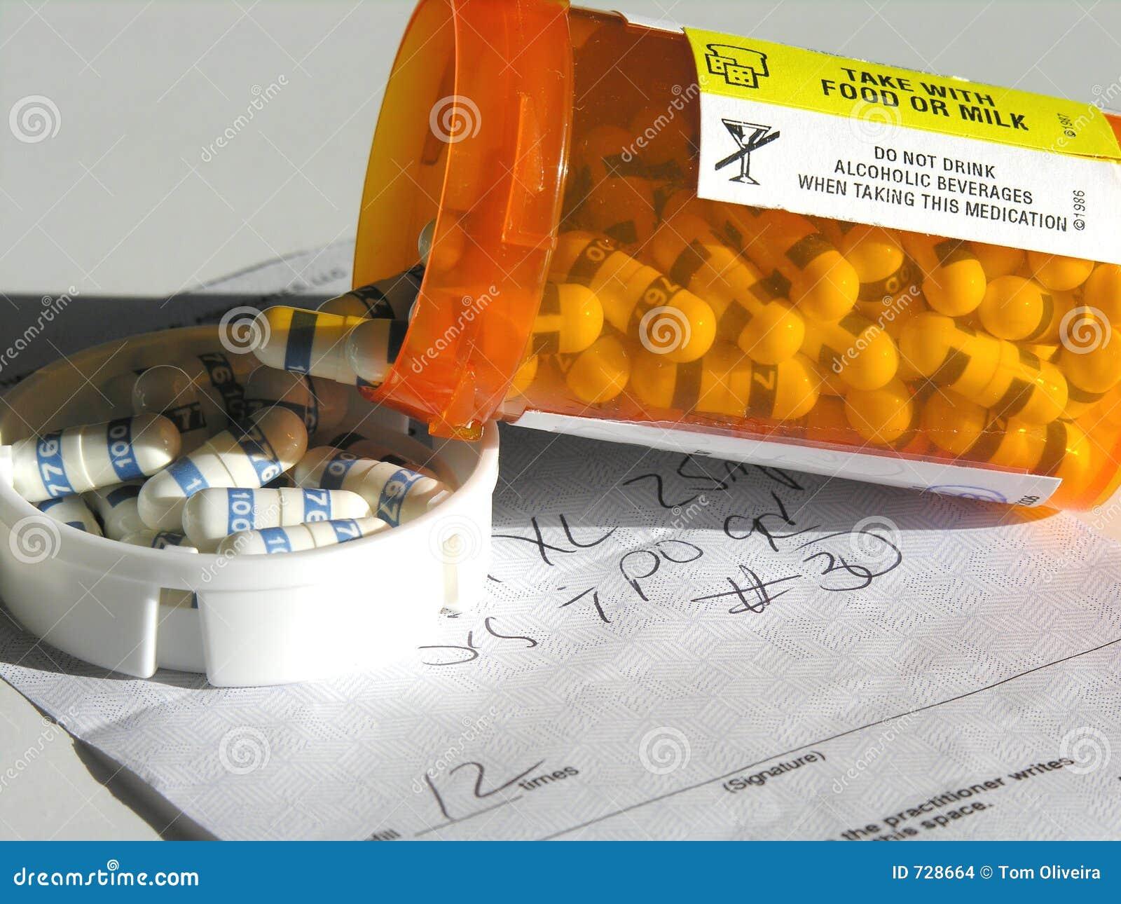Prescripción y medicación.