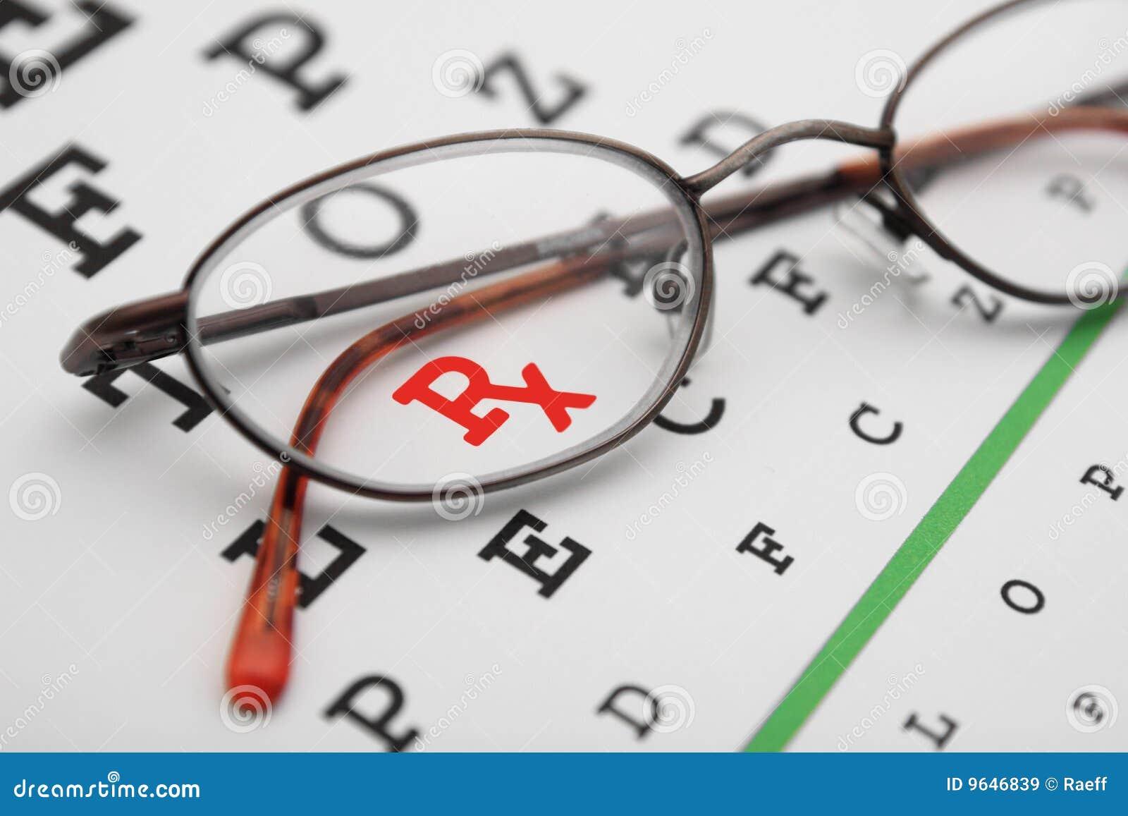 Prescription stock image  Image of check, exam, read, optometry