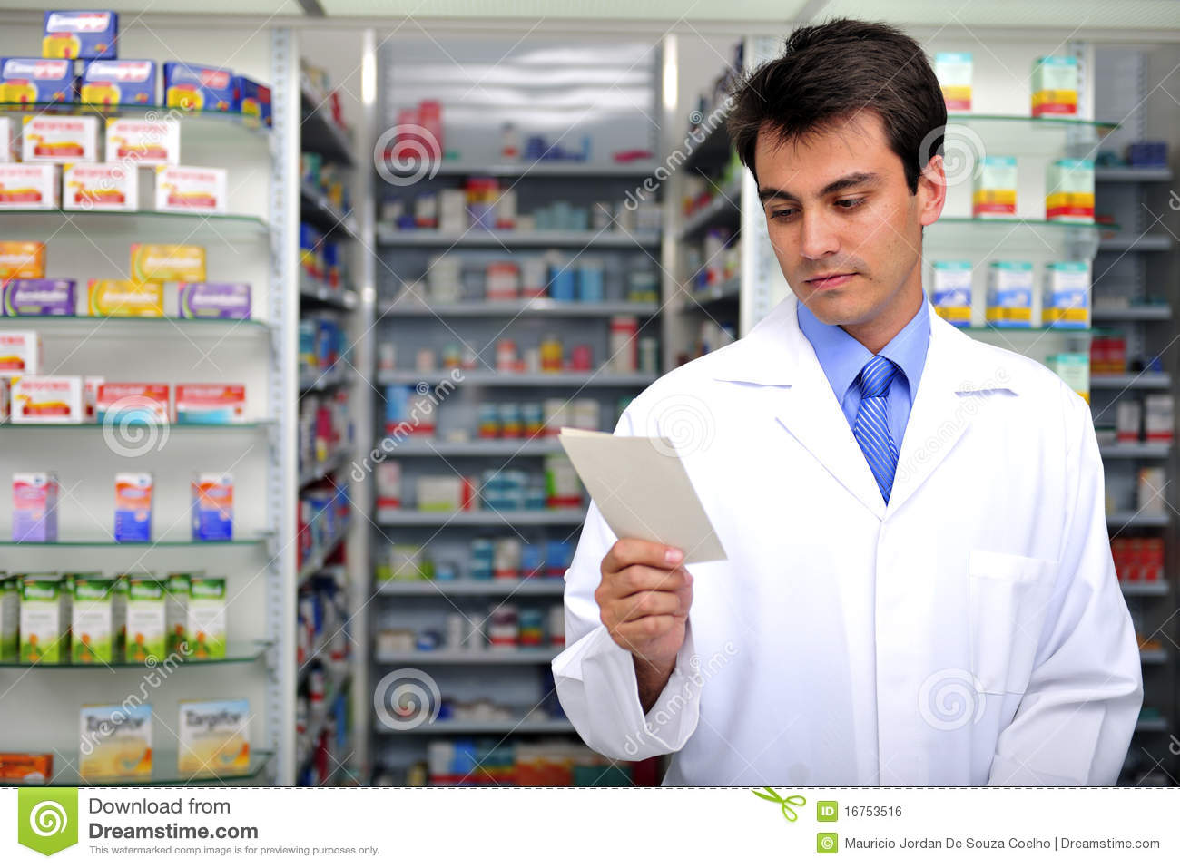 Prescription du relevé de pharmacien à la pharmacie