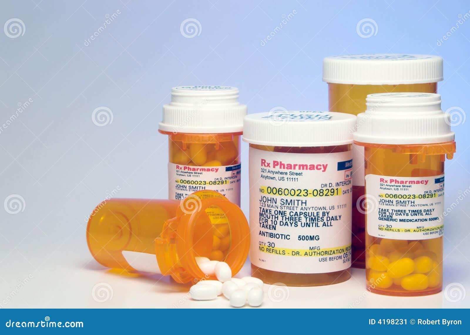 Prescription Medication Stock Image - Image: 4198231