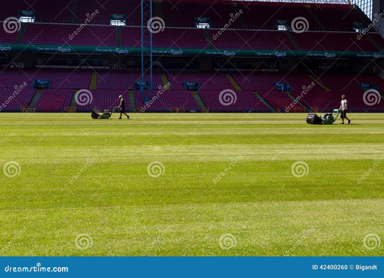 Preseason Preparations At Danish National Stadium Parken ...