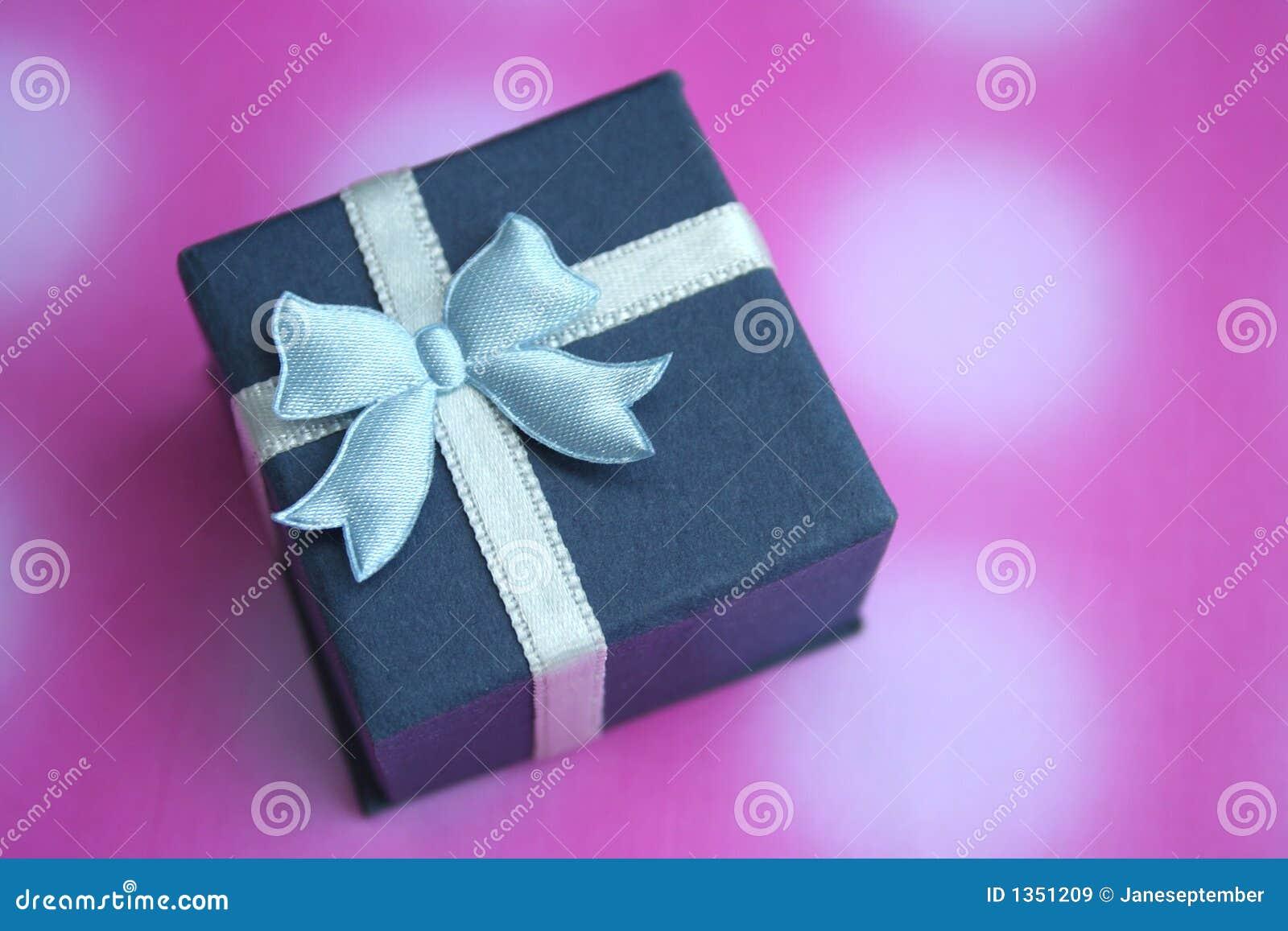 Download Present stock image. Image of beloved, blue, holiday, celebrations - 1351209