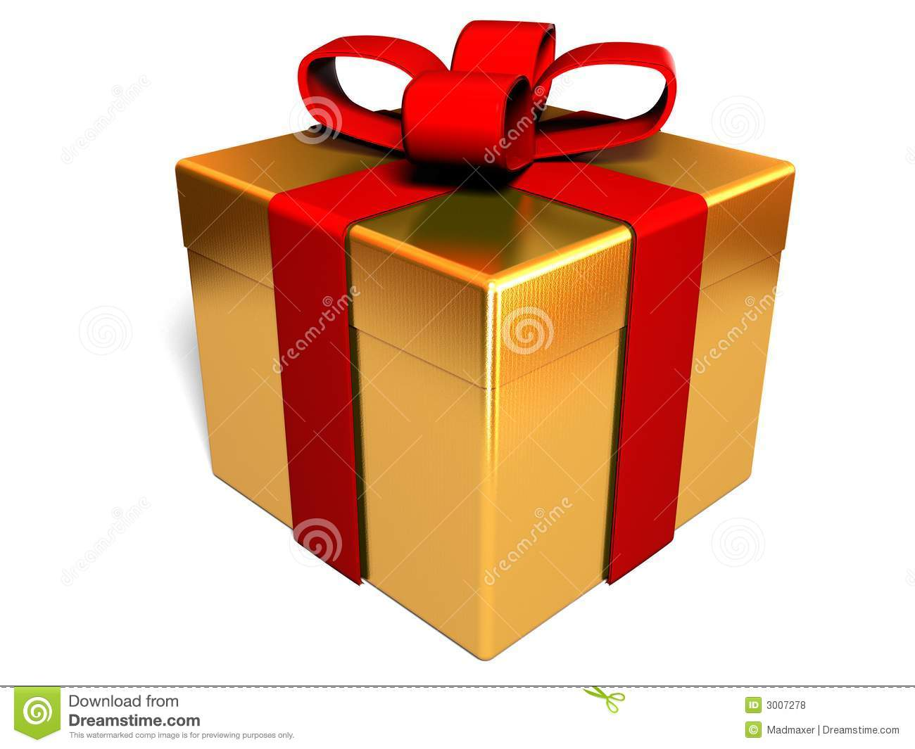 Present Box Royalty Free Stock Photos - Image: 3007278