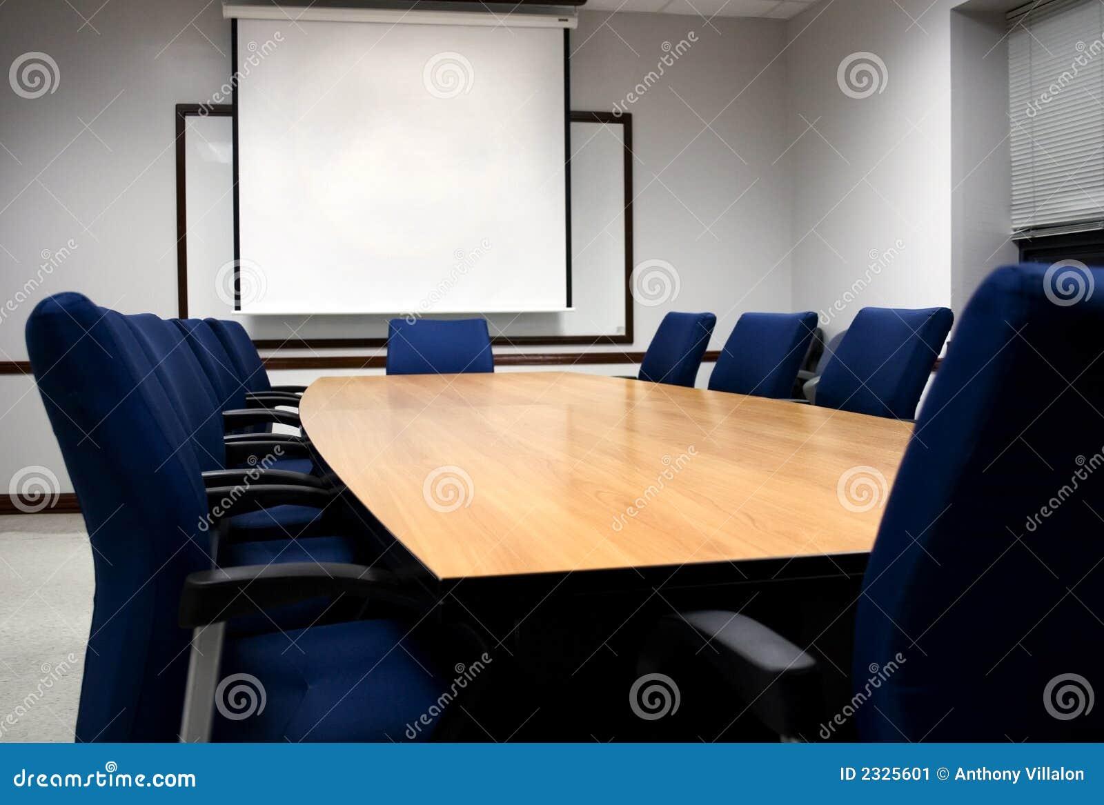 Presentación de la sala de reunión