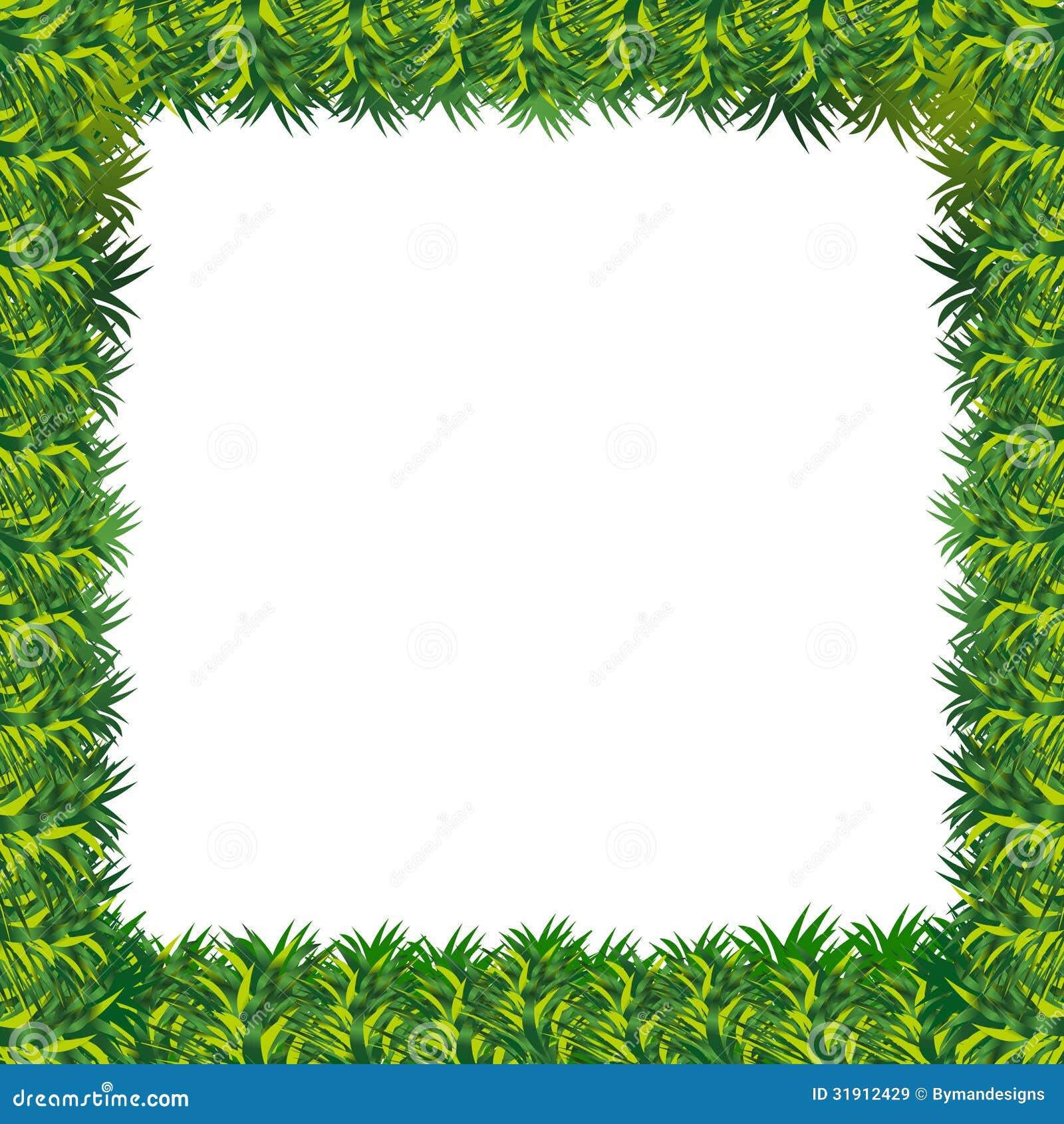 Presentaci n del marco de la hierba del vector im genes de archivo libres de regal as imagen - Marcos para plantas ...