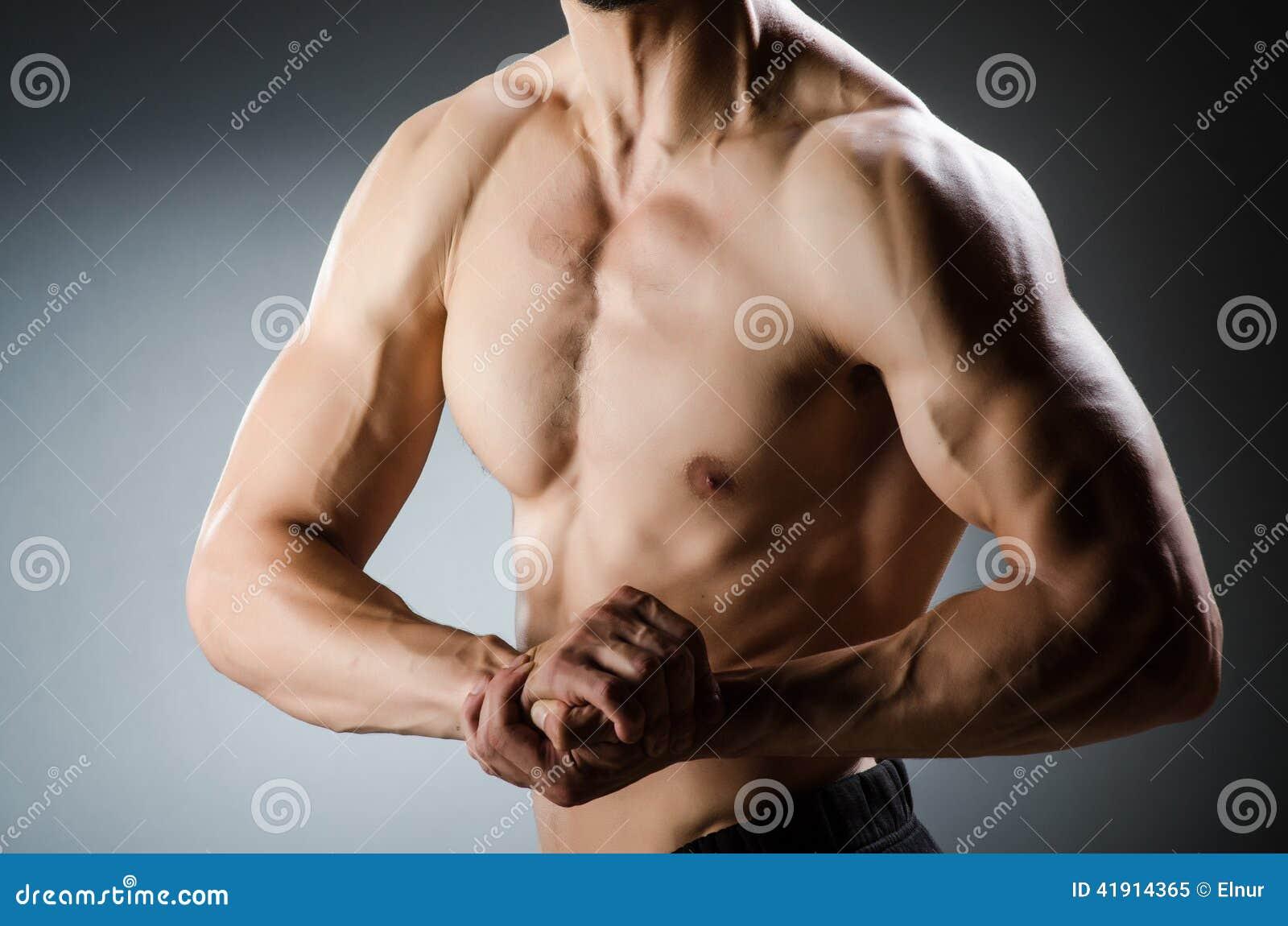 Presentación muscular del hombre