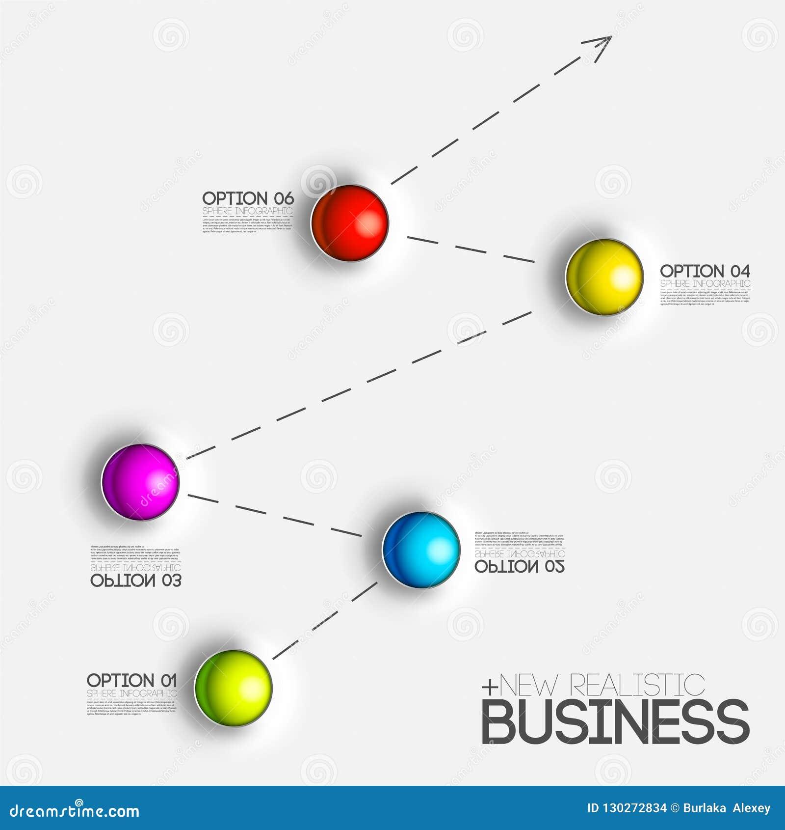 Presentation för affär för diagram för diagram 3d Realistiskt begrepp för vektorillustrationdesign Ställ in av lodisar för graf f