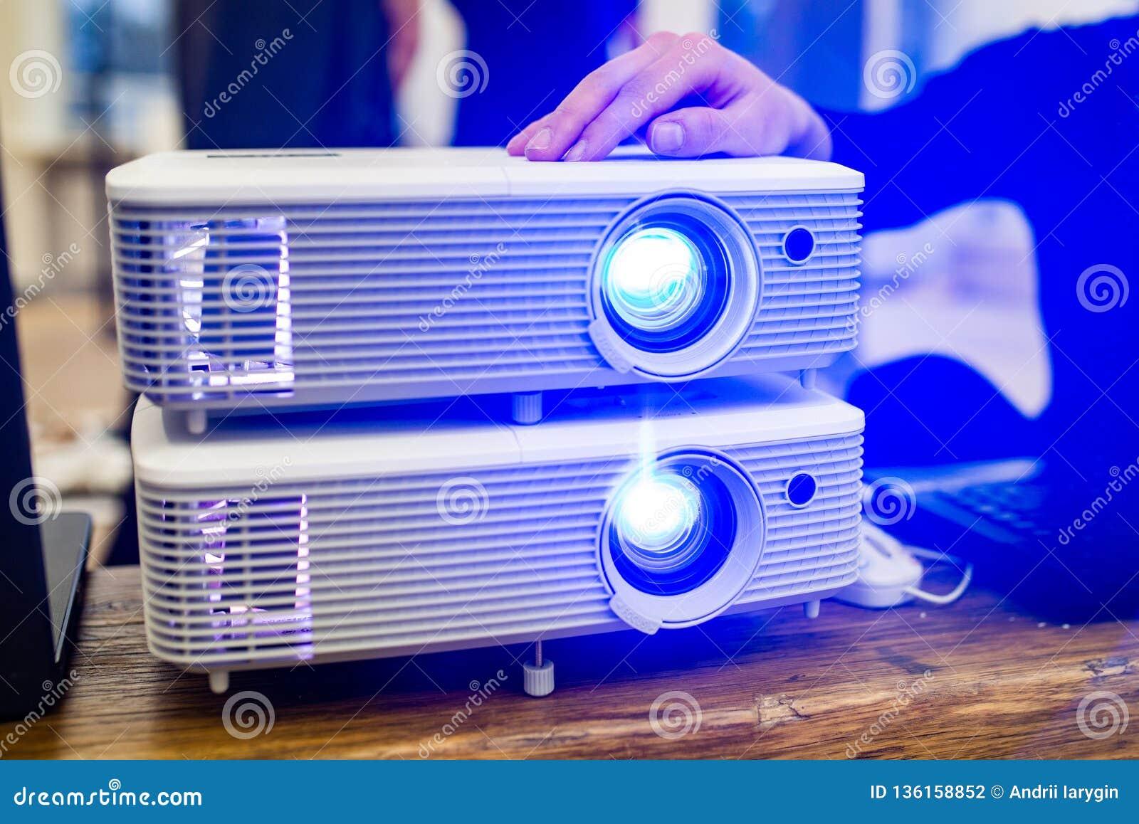 Presentation projector