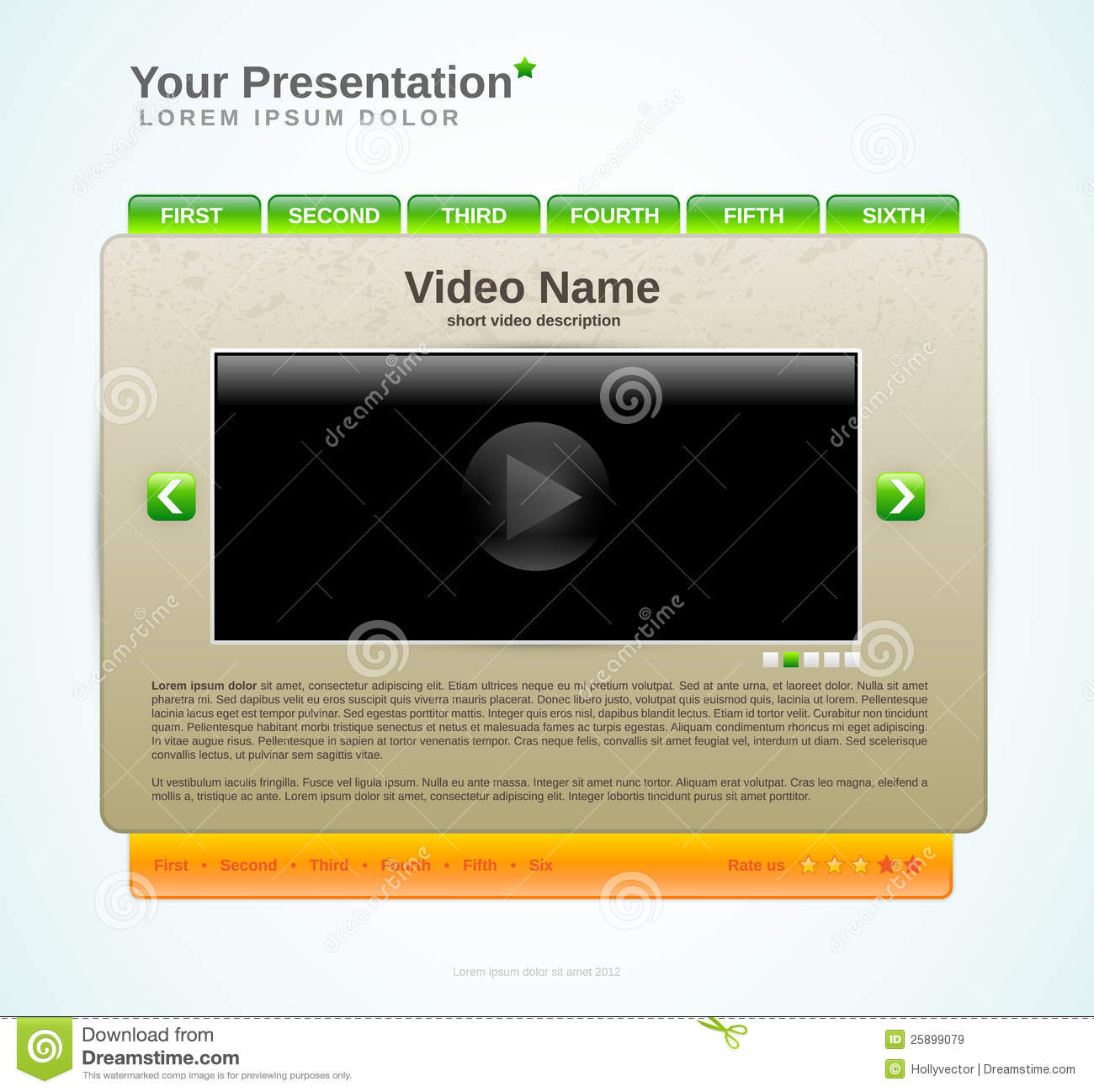 Example presentation dating site