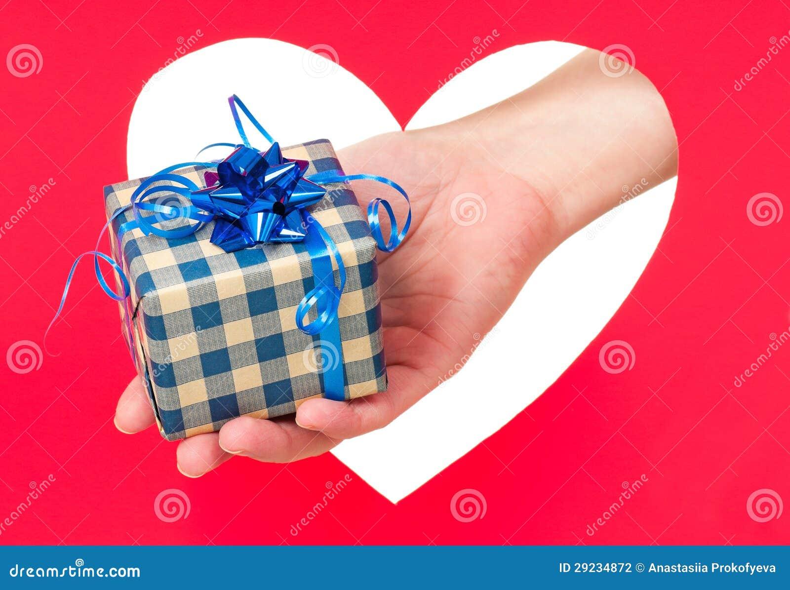 Download Presente de feriados foto de stock. Imagem de cumprimento - 29234872