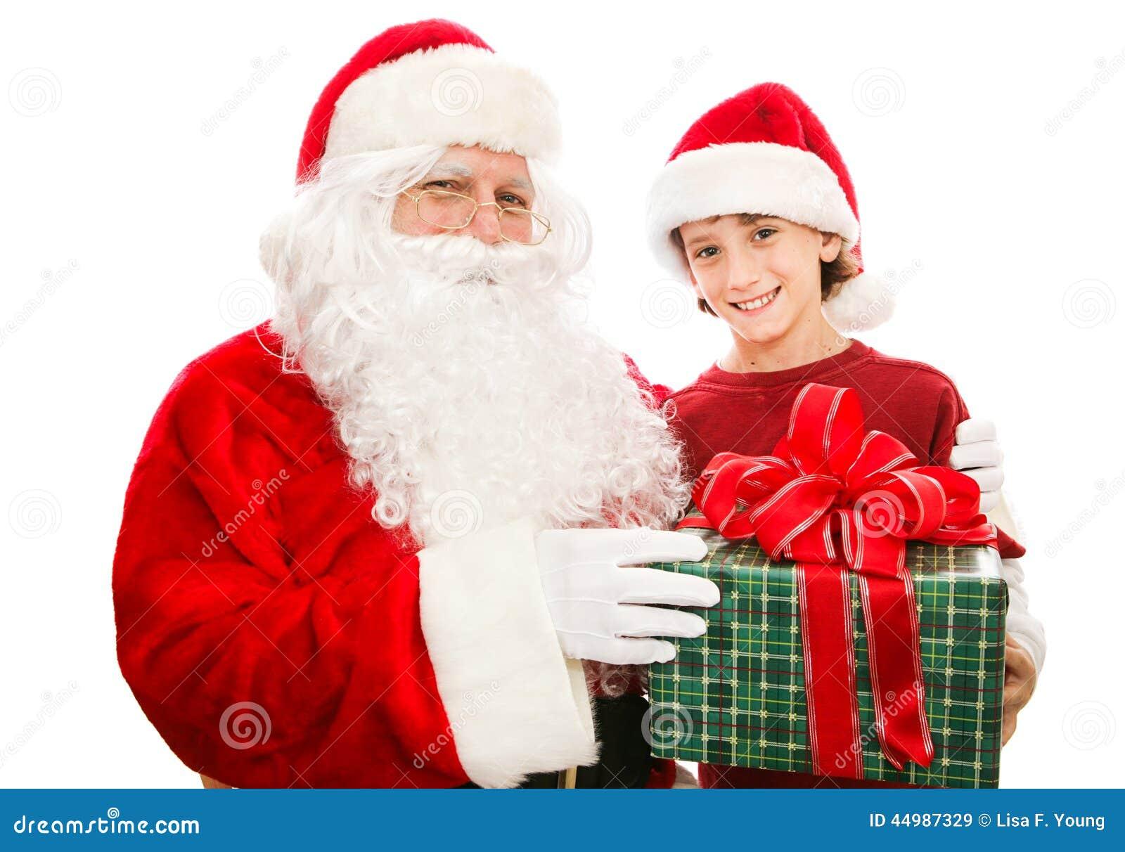 Presente de Natal de Santa