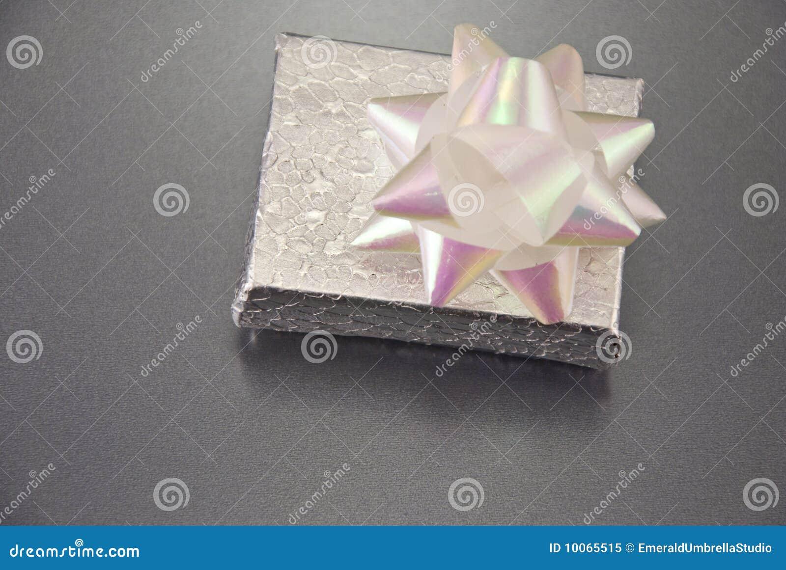 Presente fechado da prata