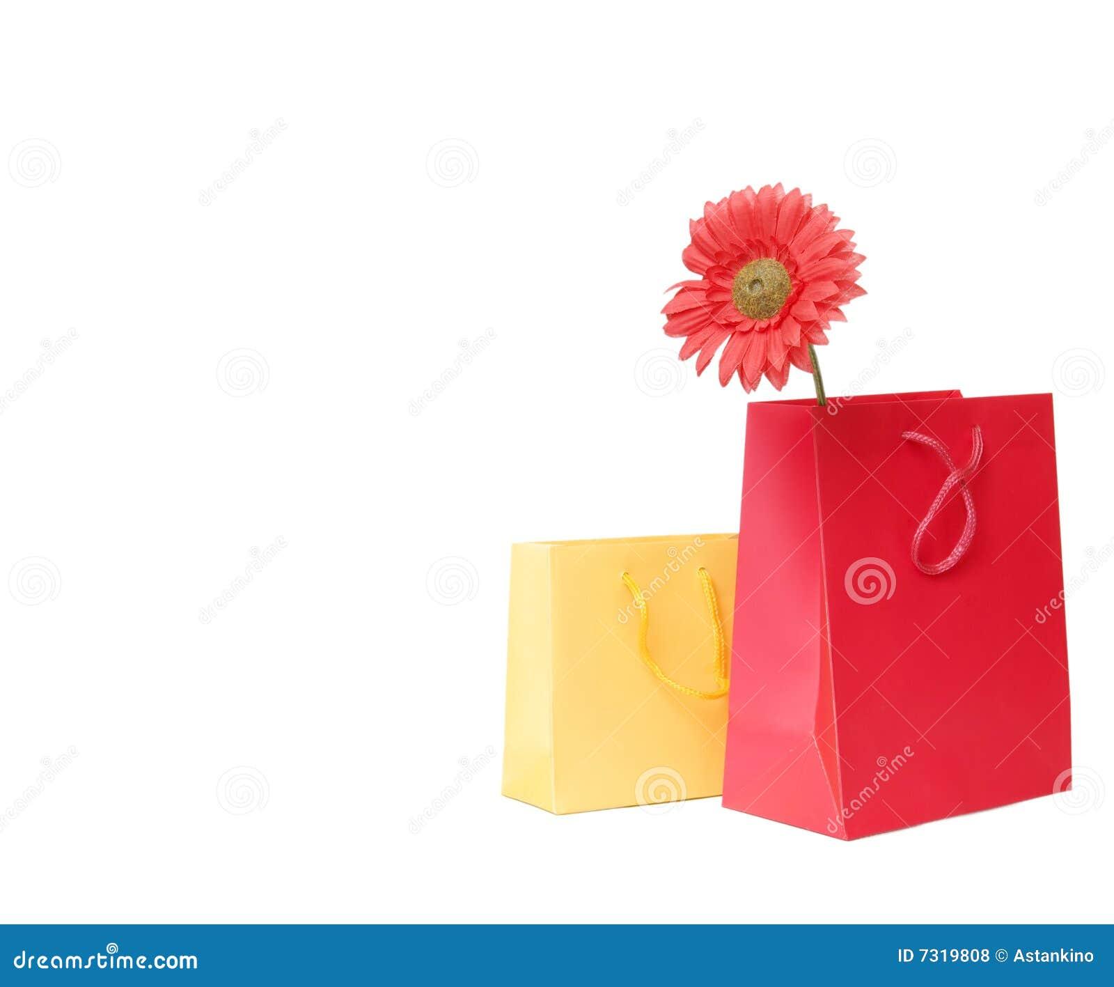 Presente o sacchetti di acquisto