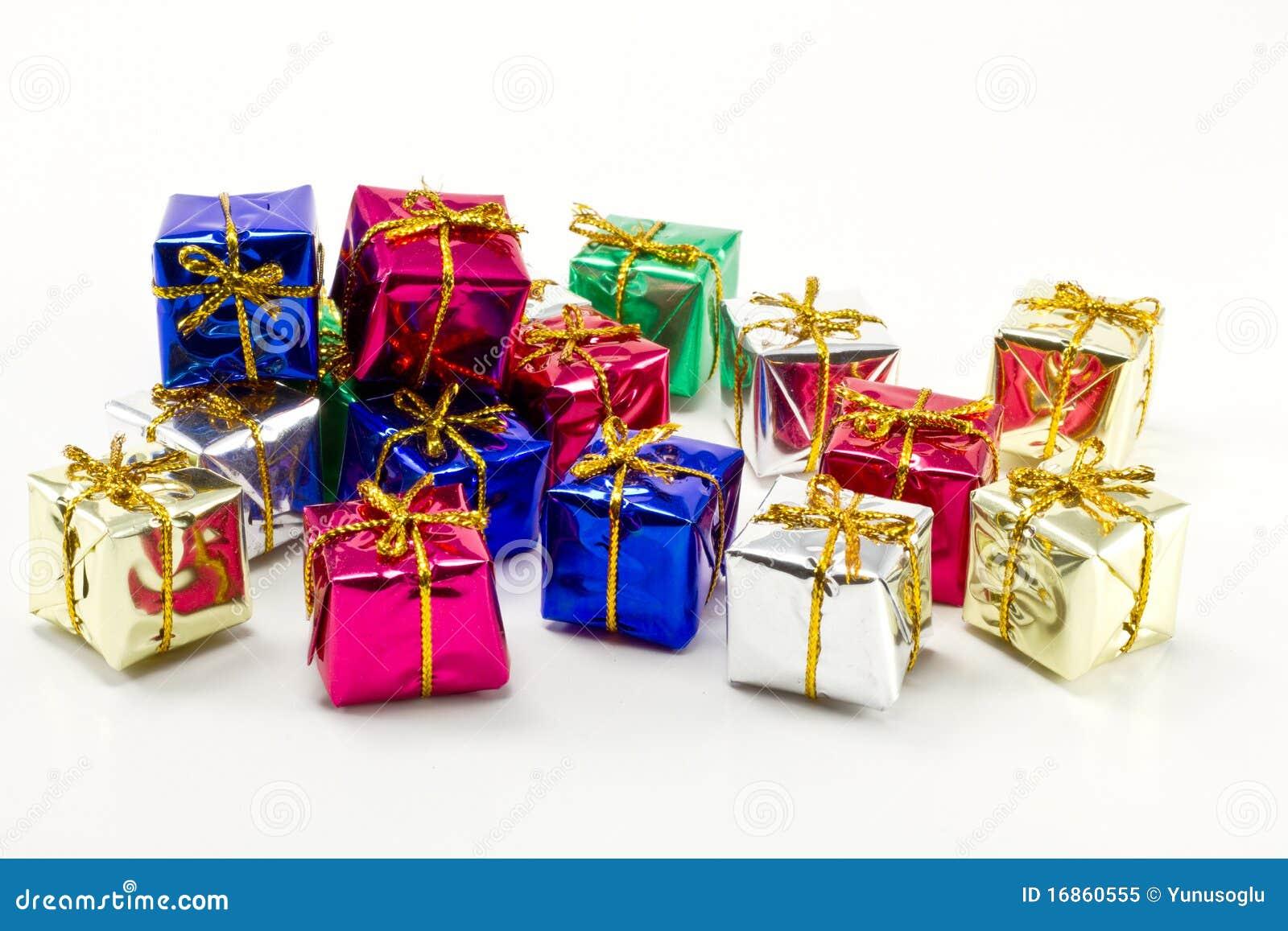 Presentes coloridos