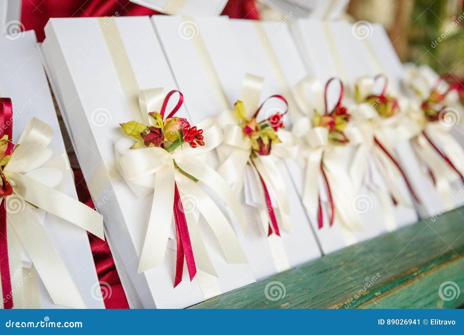 Presentes de casamento para o convidado