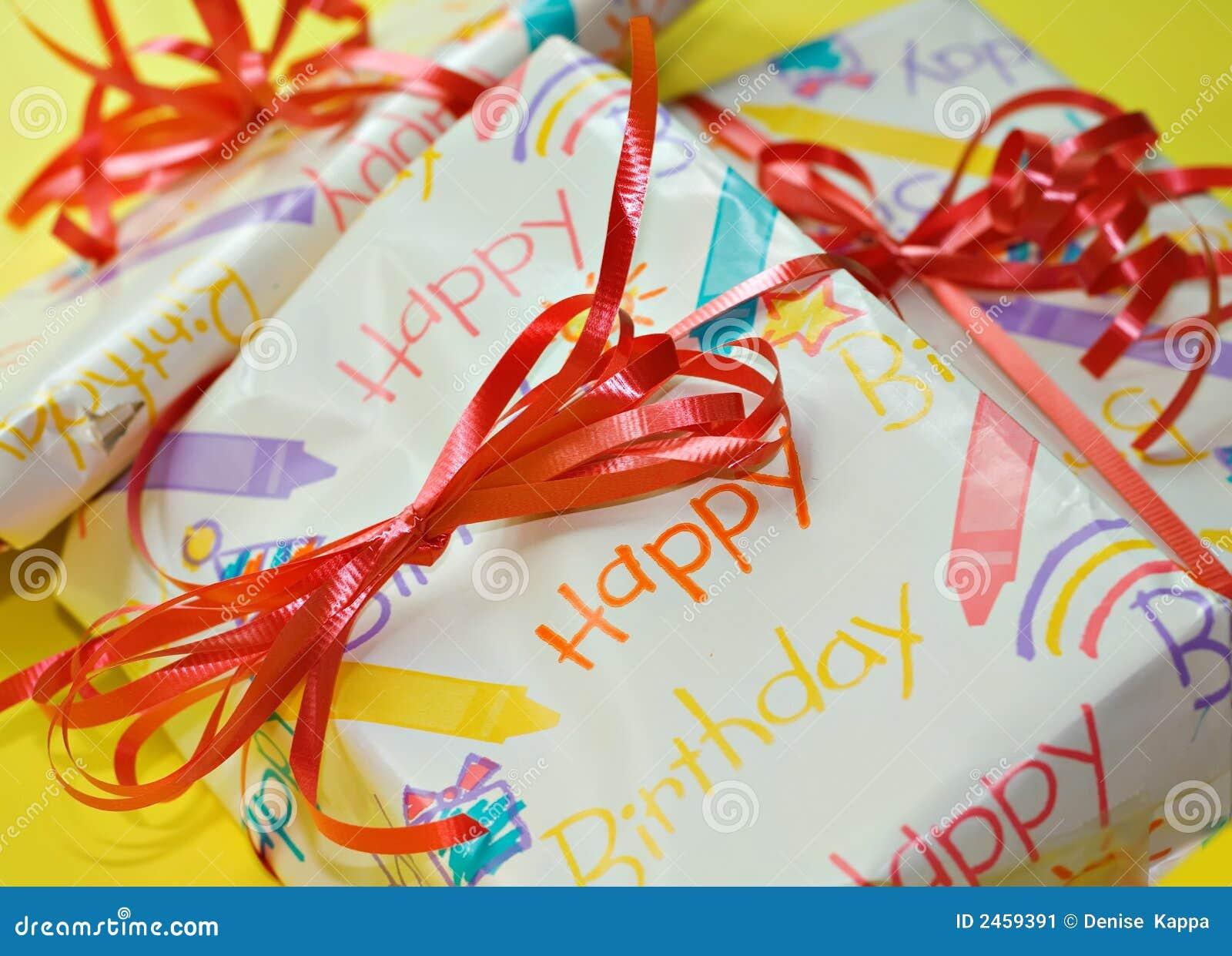 Presentes de cumpleaños