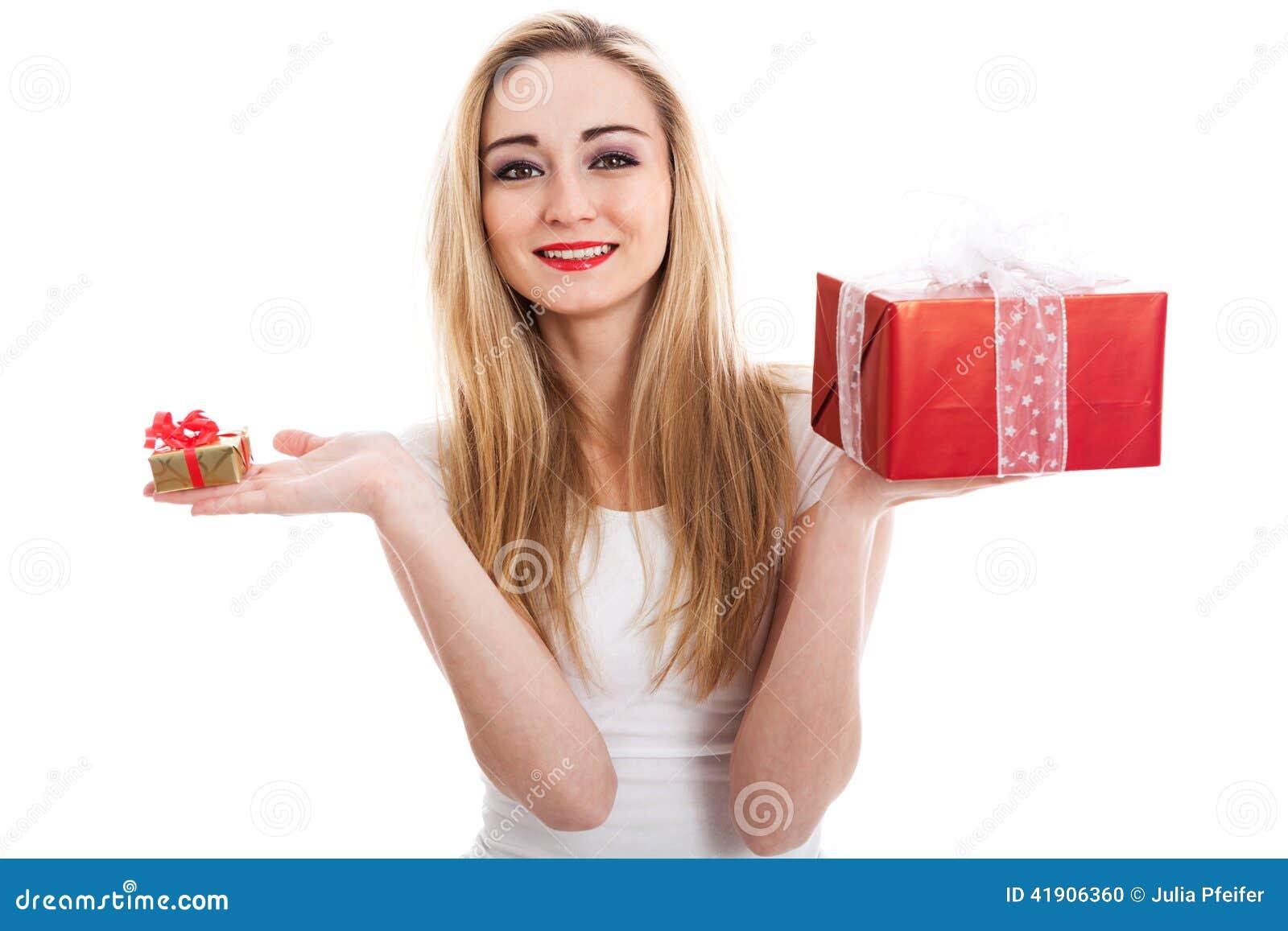 Presentes que llevan del modelo femenino