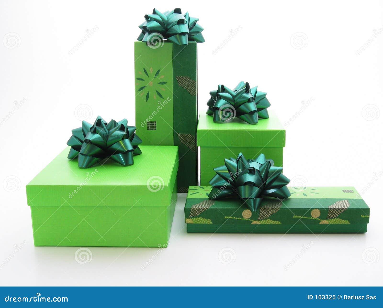 Presentes verdes