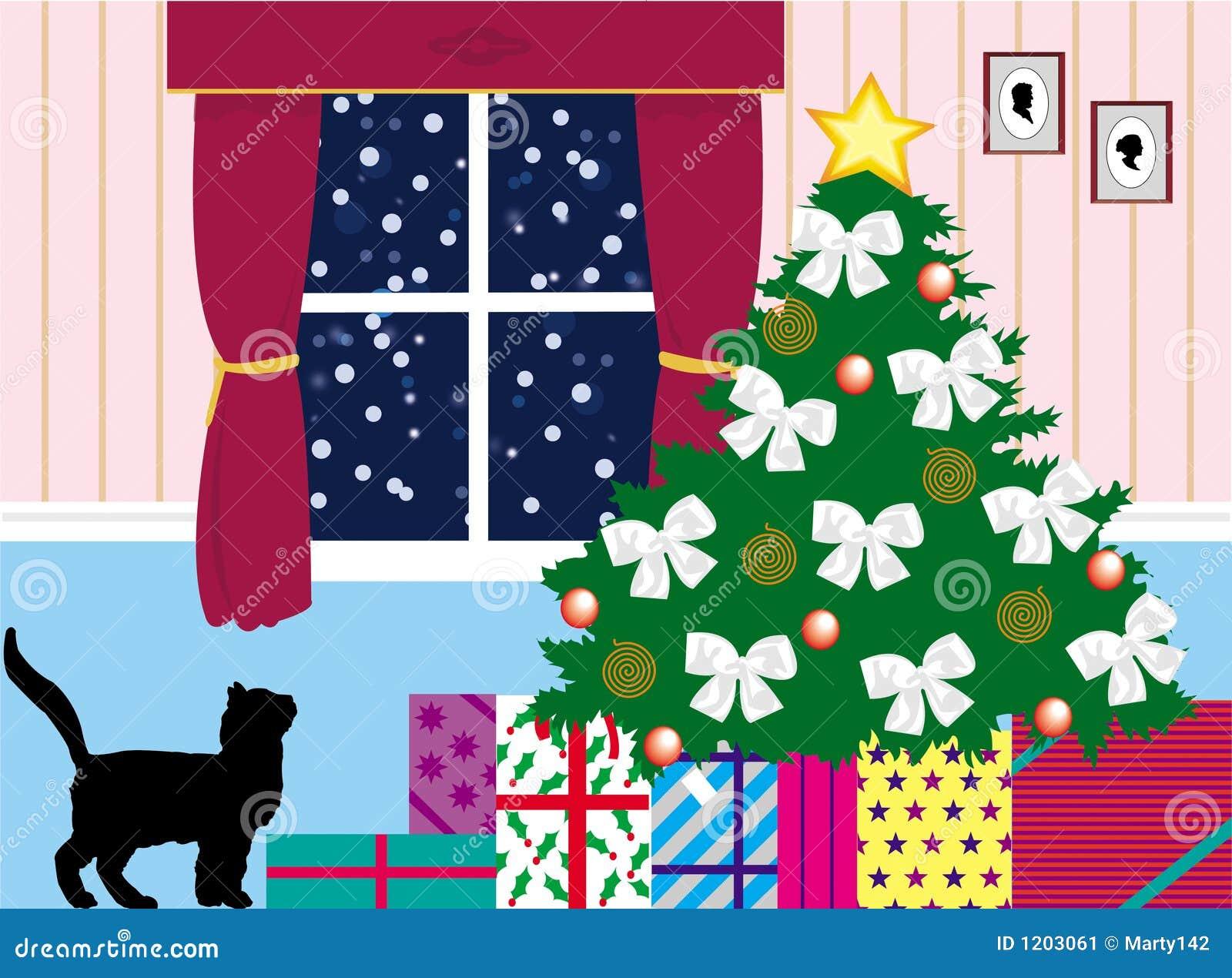 Presents under the tree