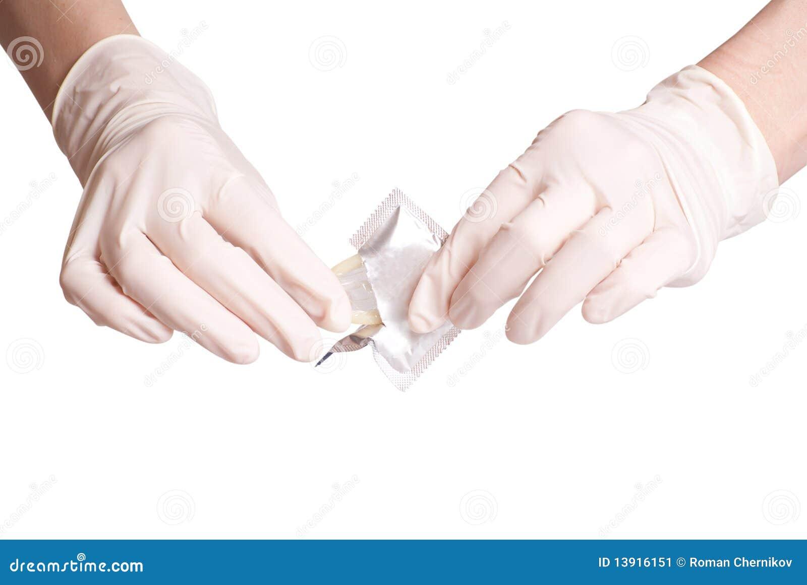 Preservativo de la apertura