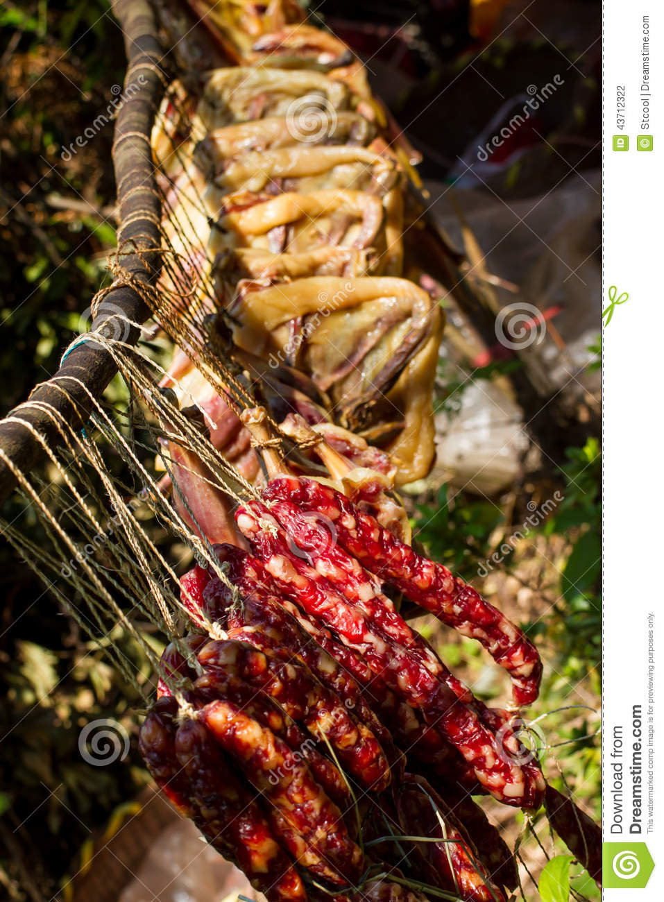 Preserved meat