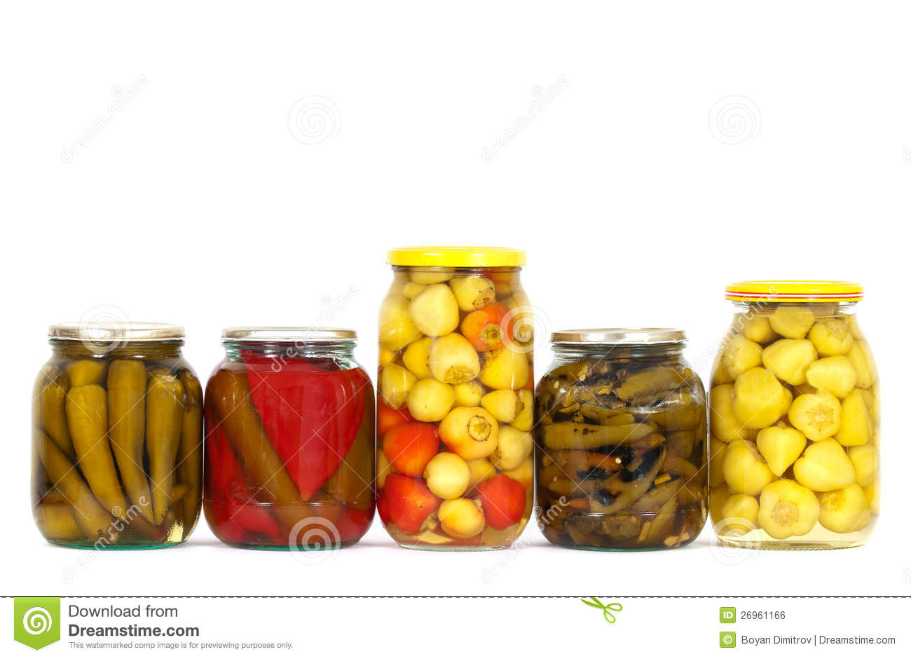 Preserved peppers stock photo. Image of background ...