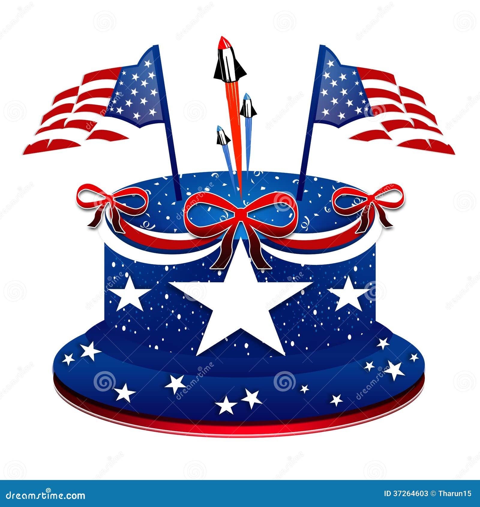 Miraculous President Day Patriotic Cake Stock Illustration Illustration Funny Birthday Cards Online Fluifree Goldxyz