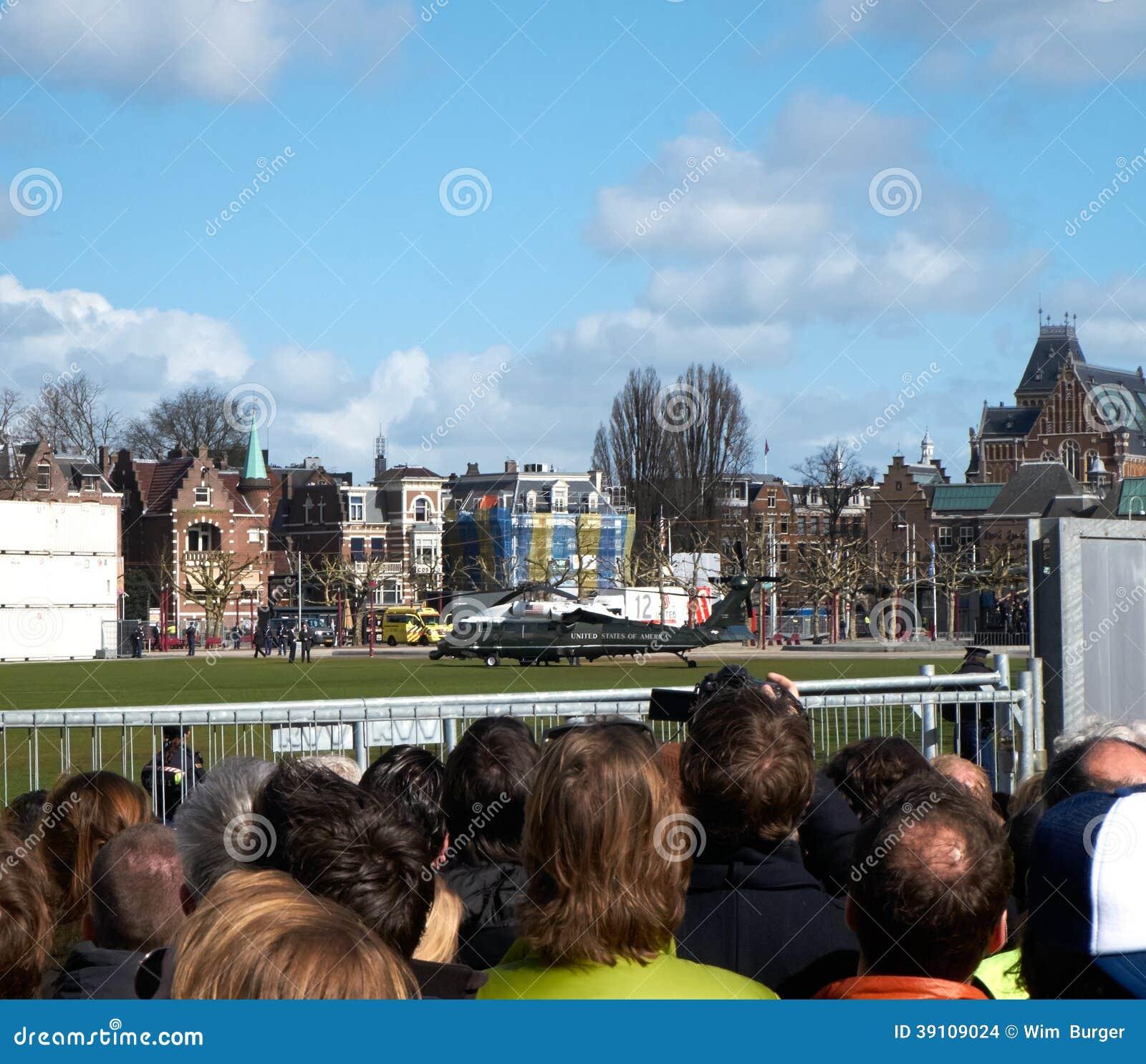 President Obama bezoek aan Rijksmuseum
