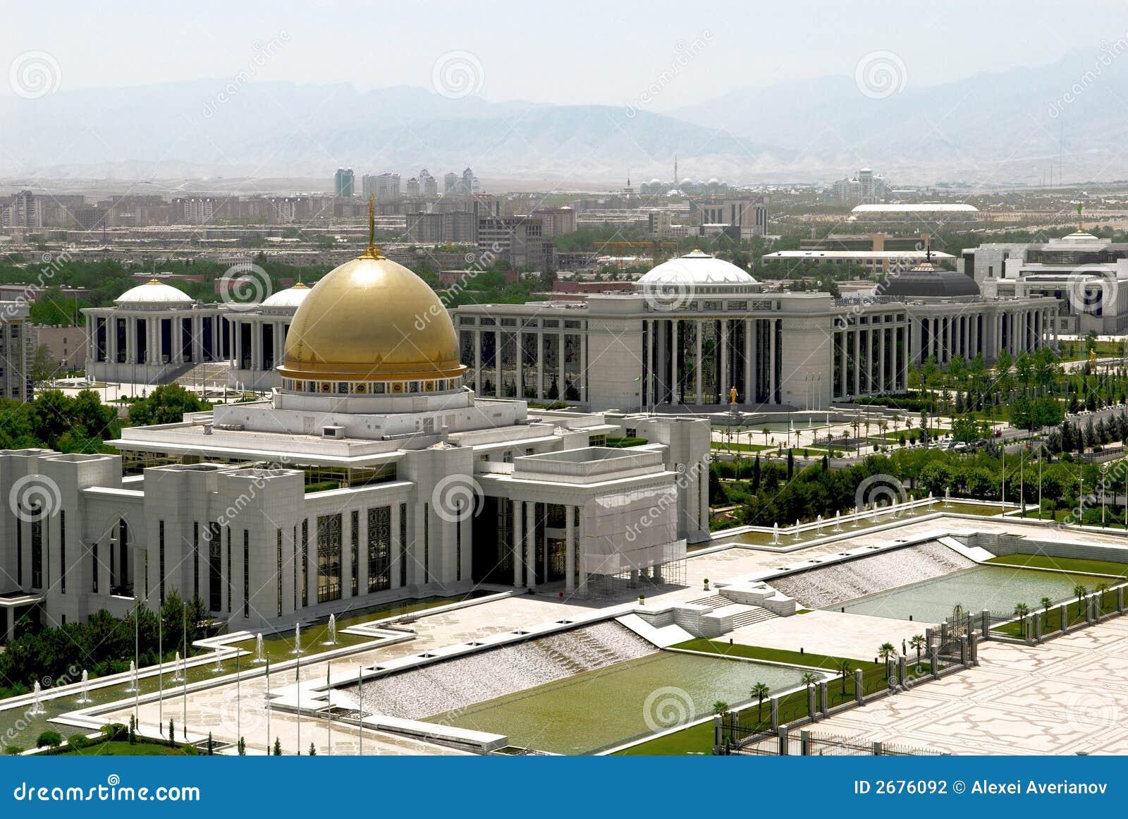 President palace. Ashkgabad
