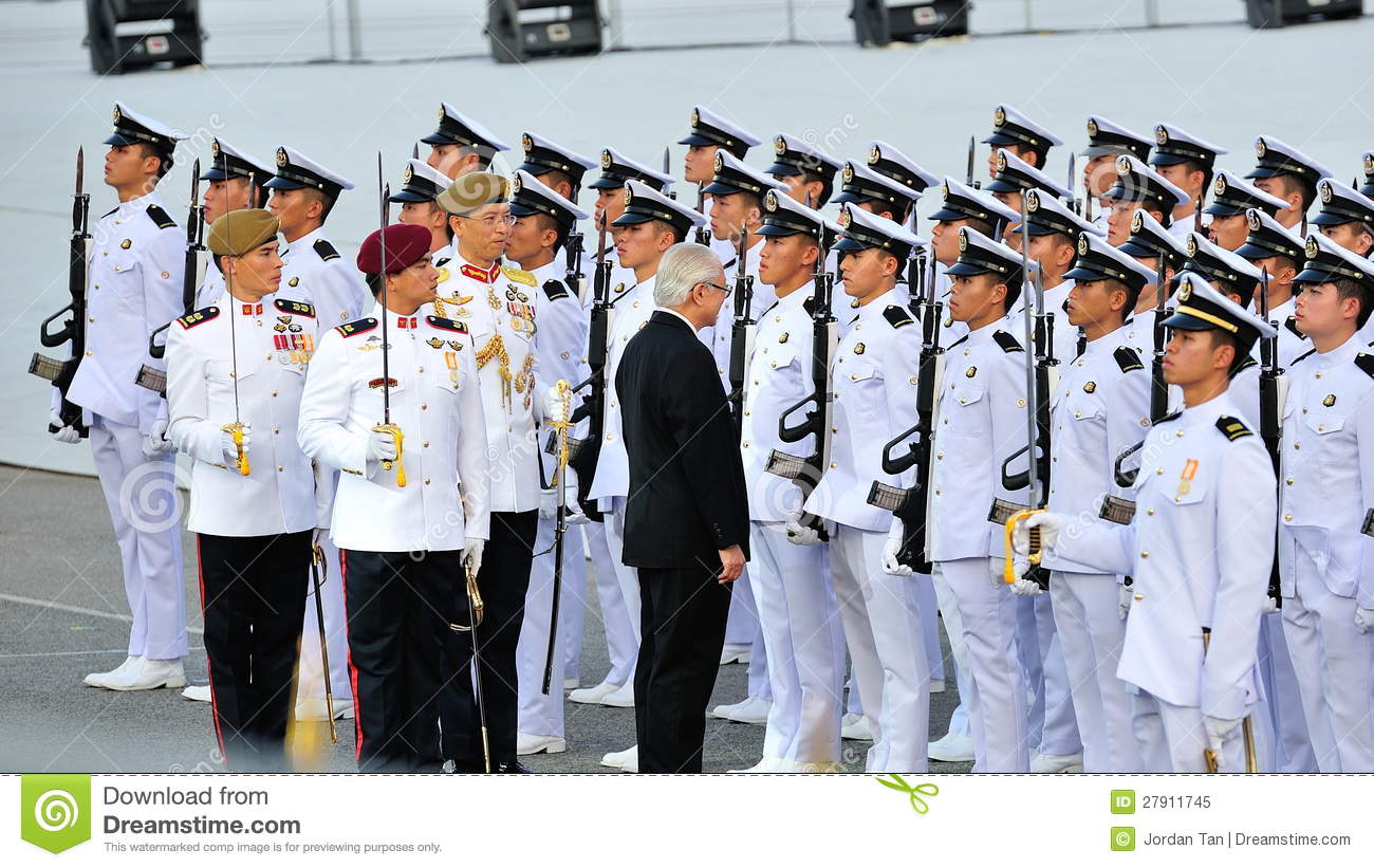 Navy Guard of honor Contingent Editorial