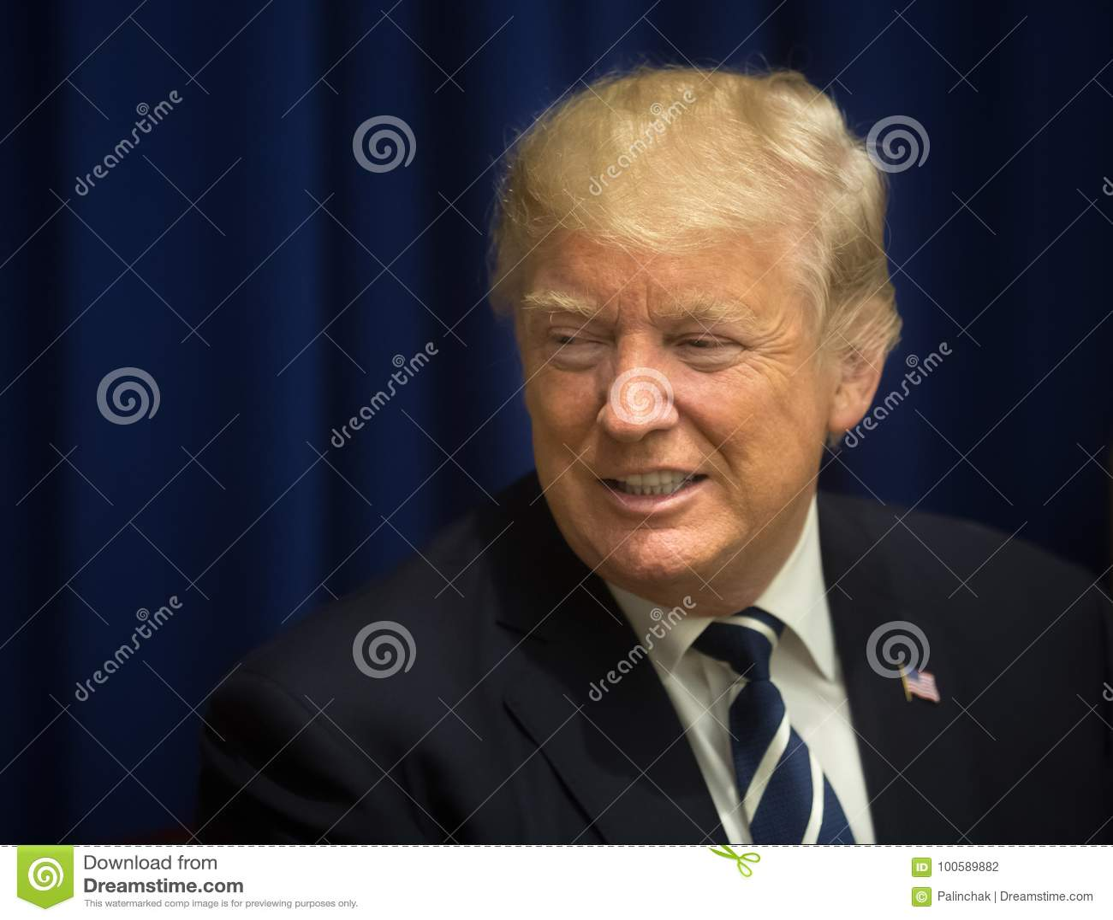 President van de Verenigde Staten Donald Trump