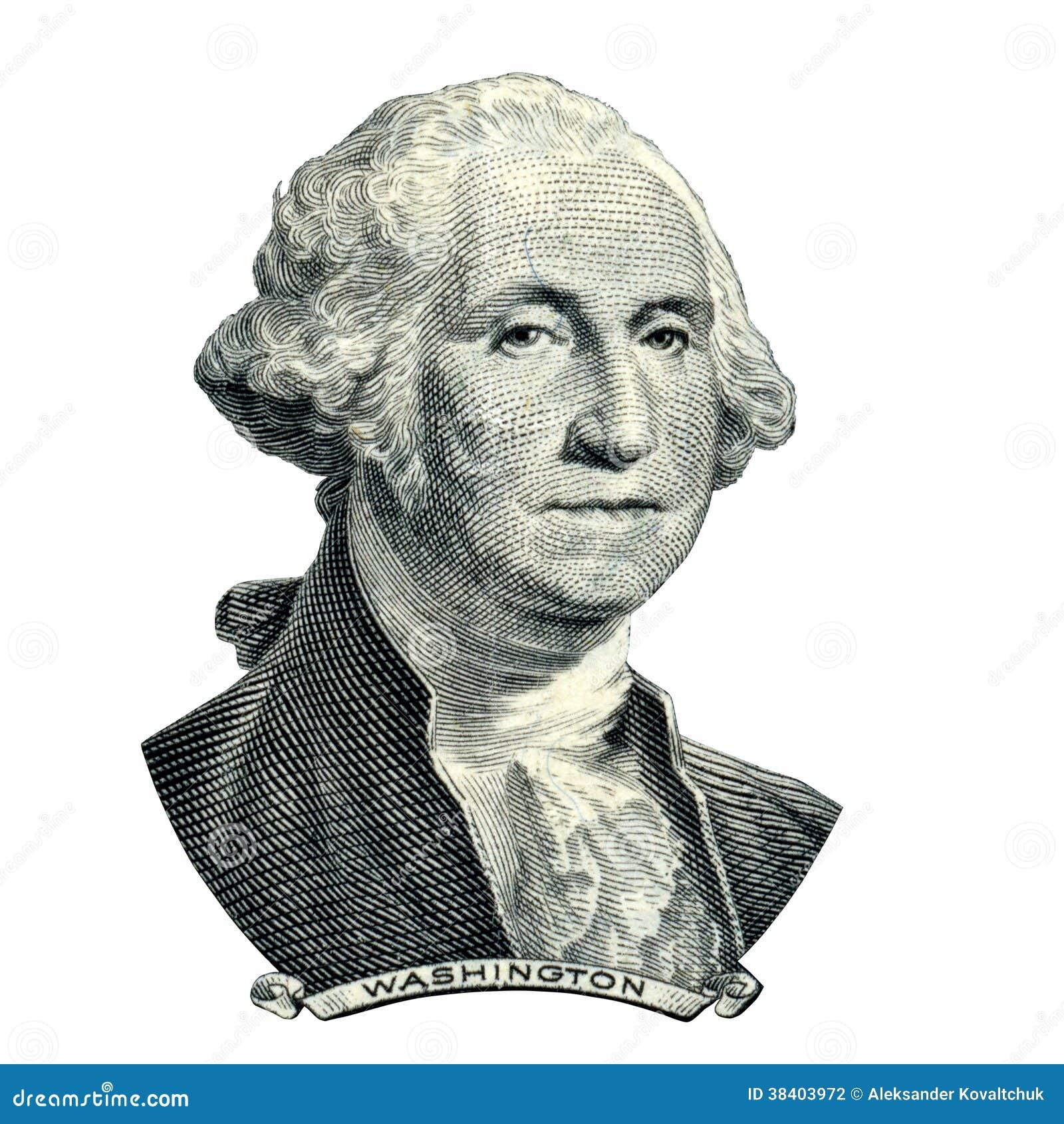 President Washington George Portrait Stock Photography - Image ...