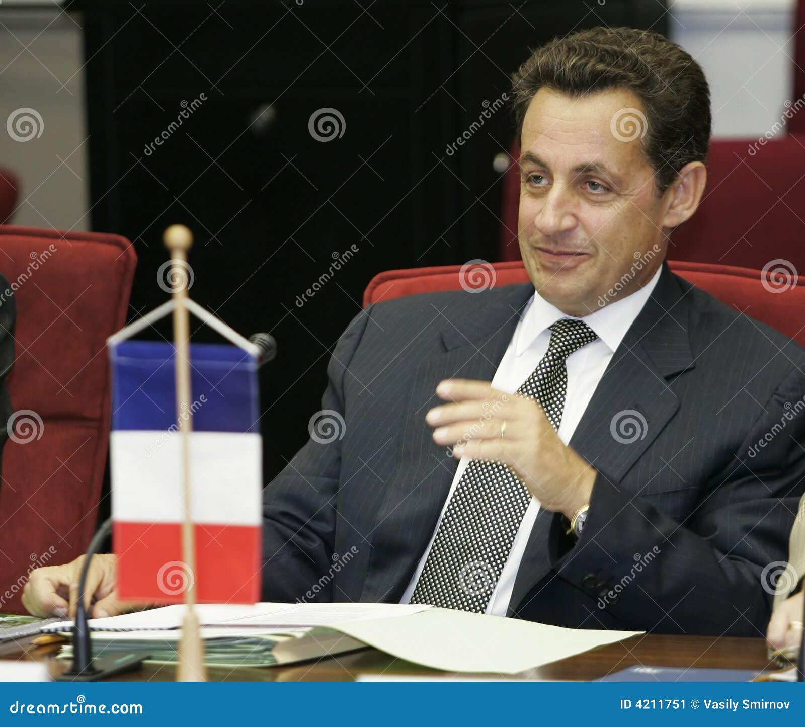 Presidente del French Republic Nicolas Sarkozy