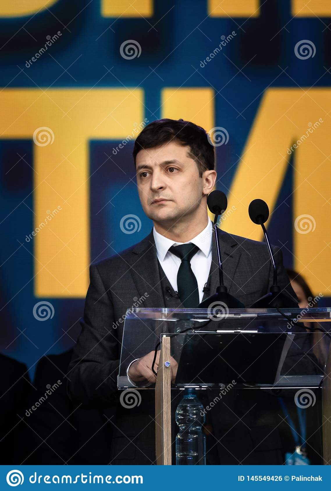 Presidente di neoeletto dell Ucraina Vladimir Zelensky