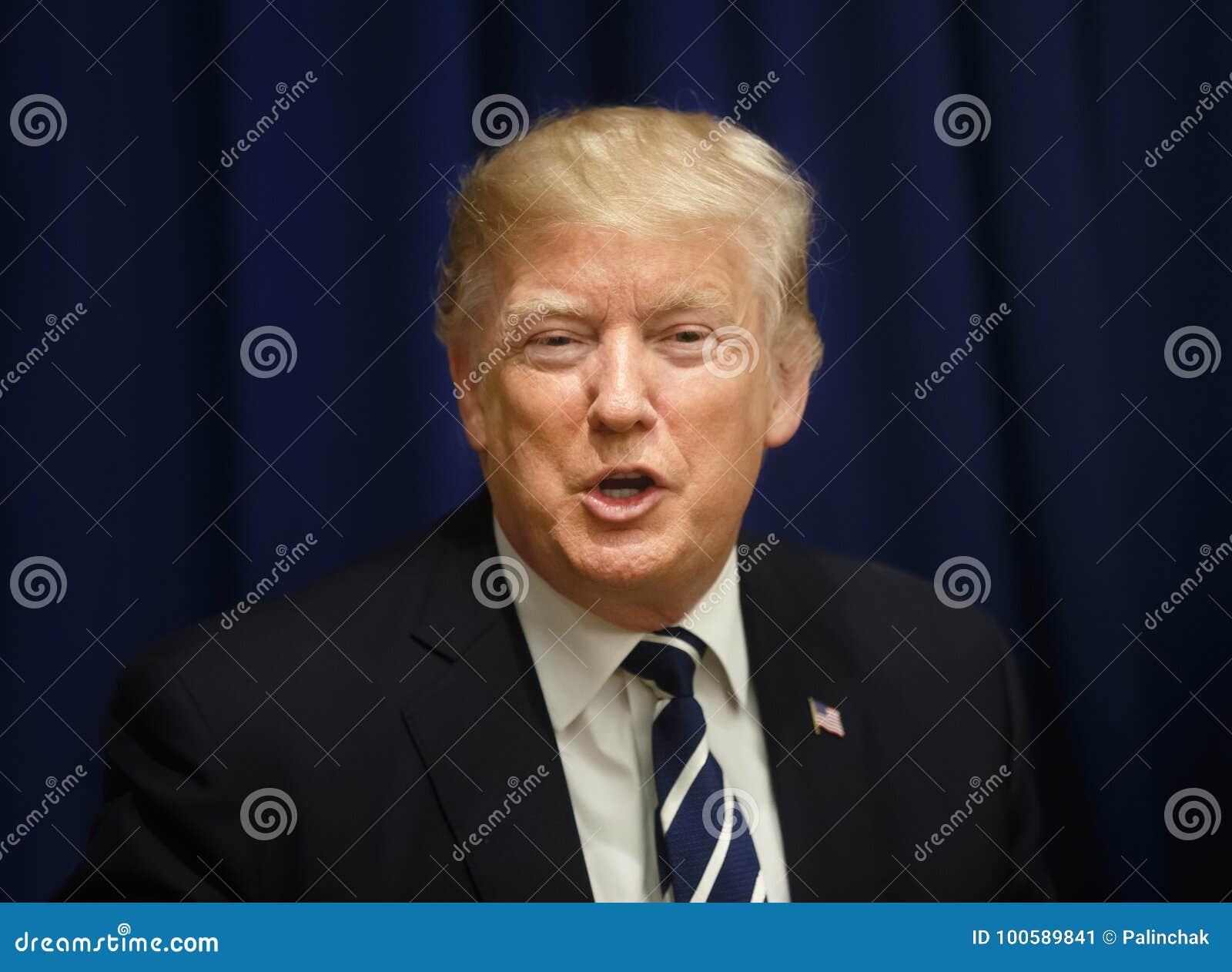 Presidente dos Estados Unidos Donald Trump