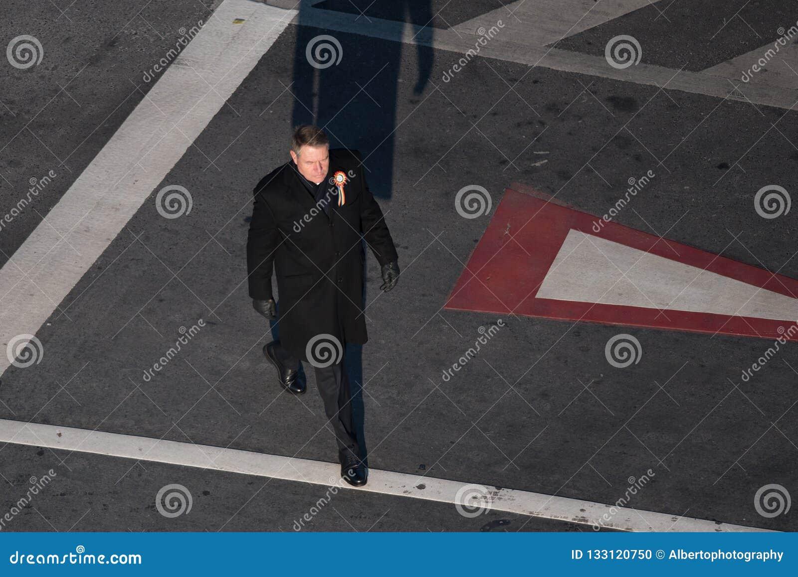 Presidente rumano Klaus Iohannis