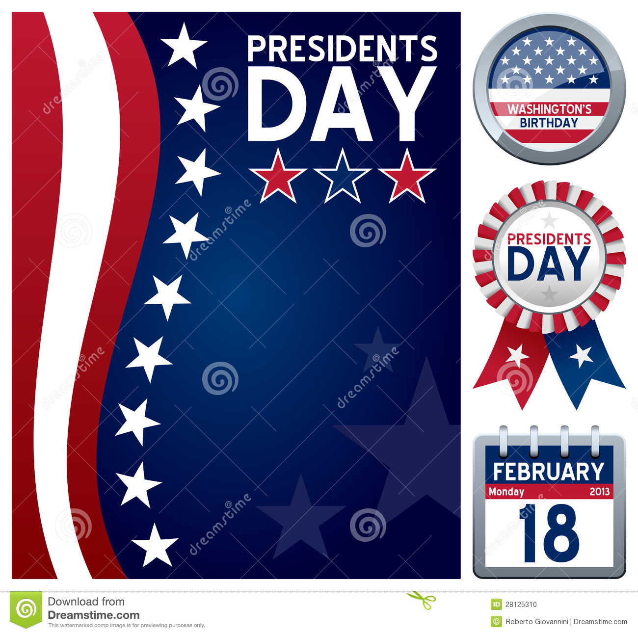 Presidentes Day Set