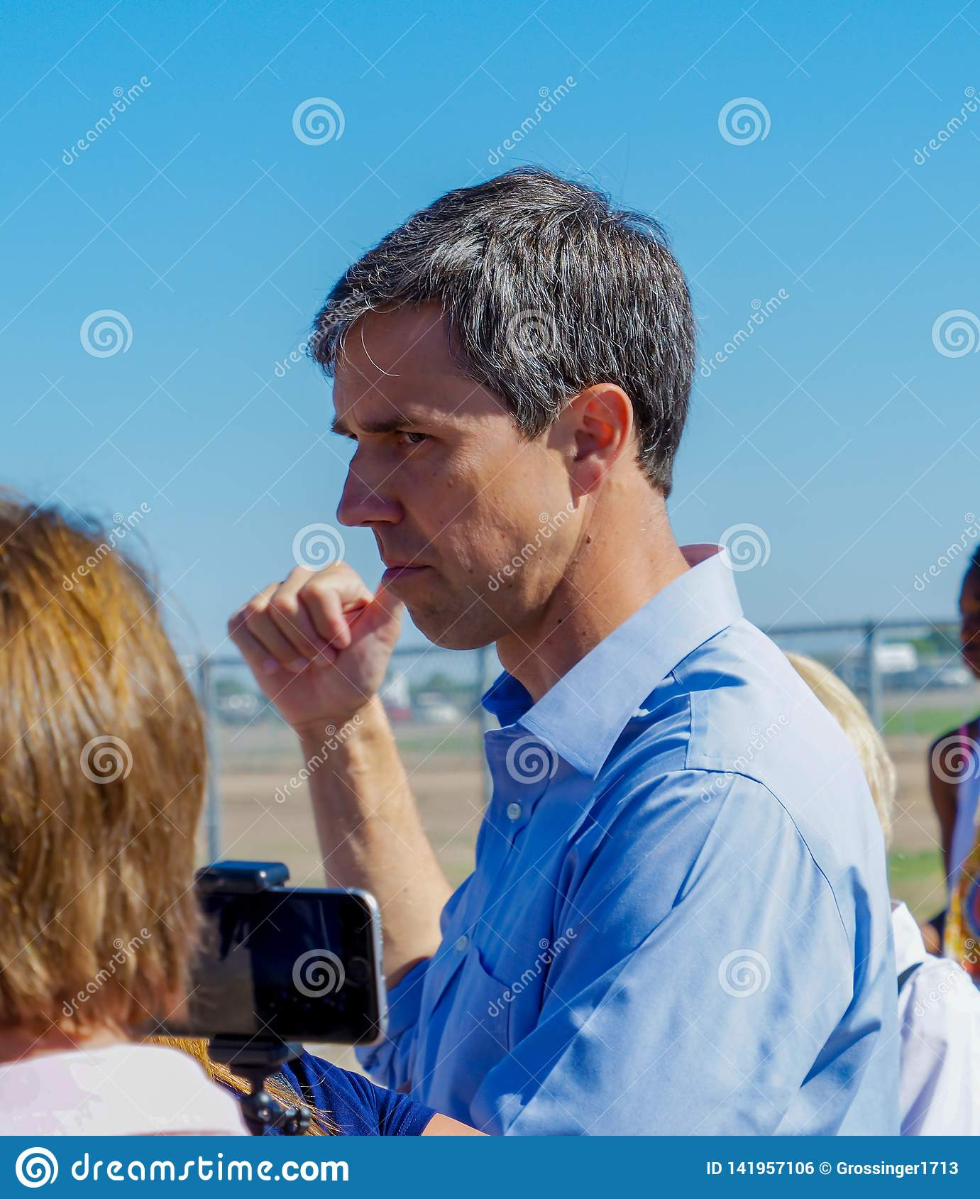 Presidentiële kandidaat Beto O' Rourke