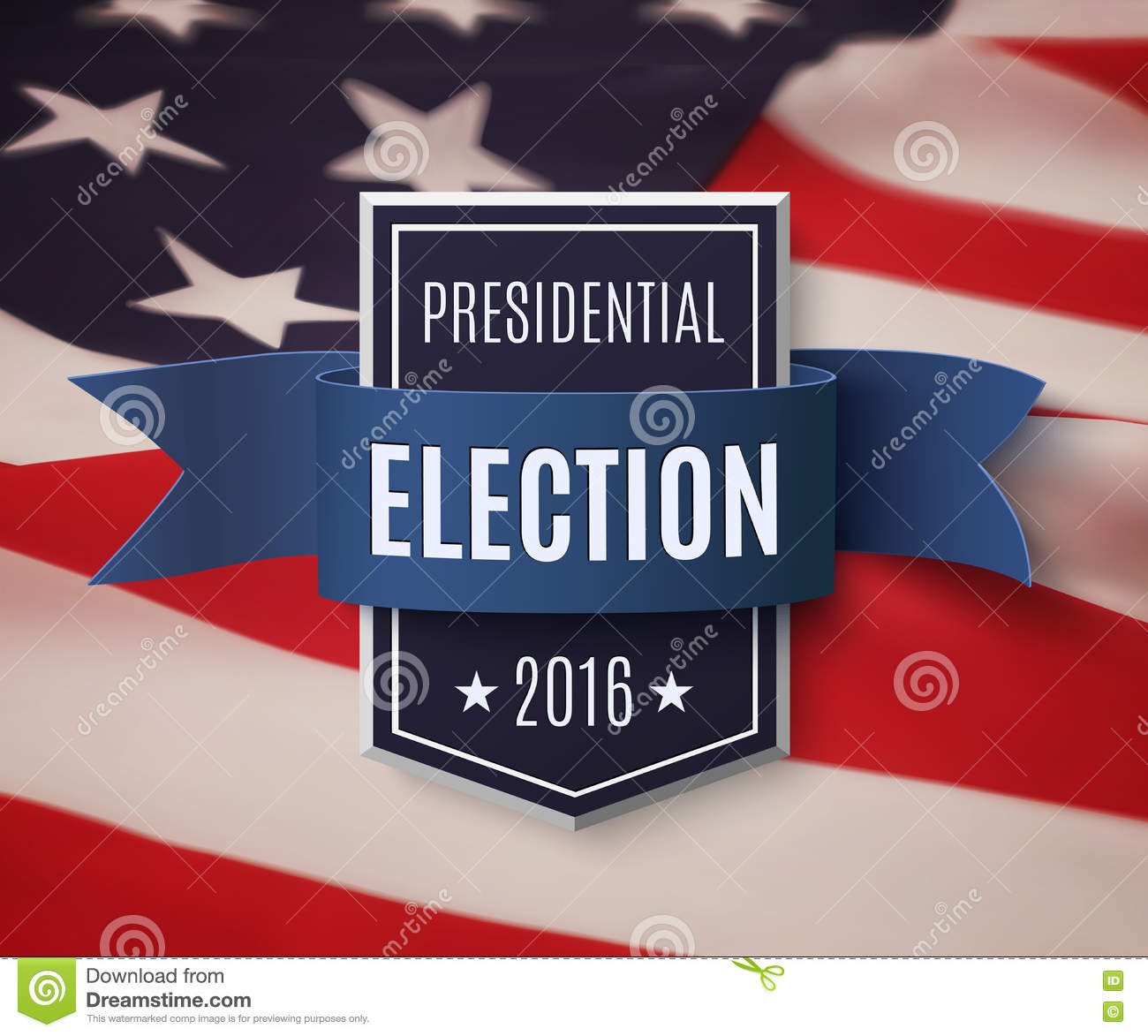 download presidential election 2016 poster template stock vector illustration of elect politics