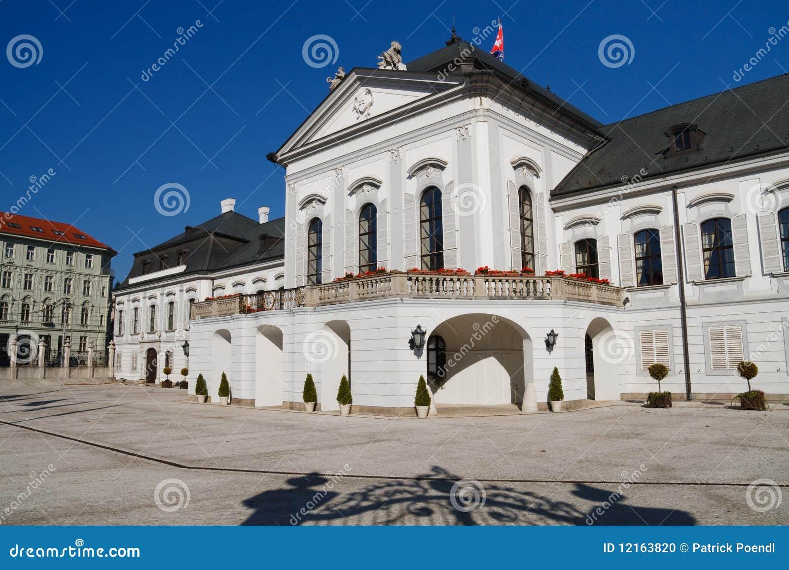 Presidential grassalkovich palace bratislava stock photo for Design hotel 21 bratislava kontakt