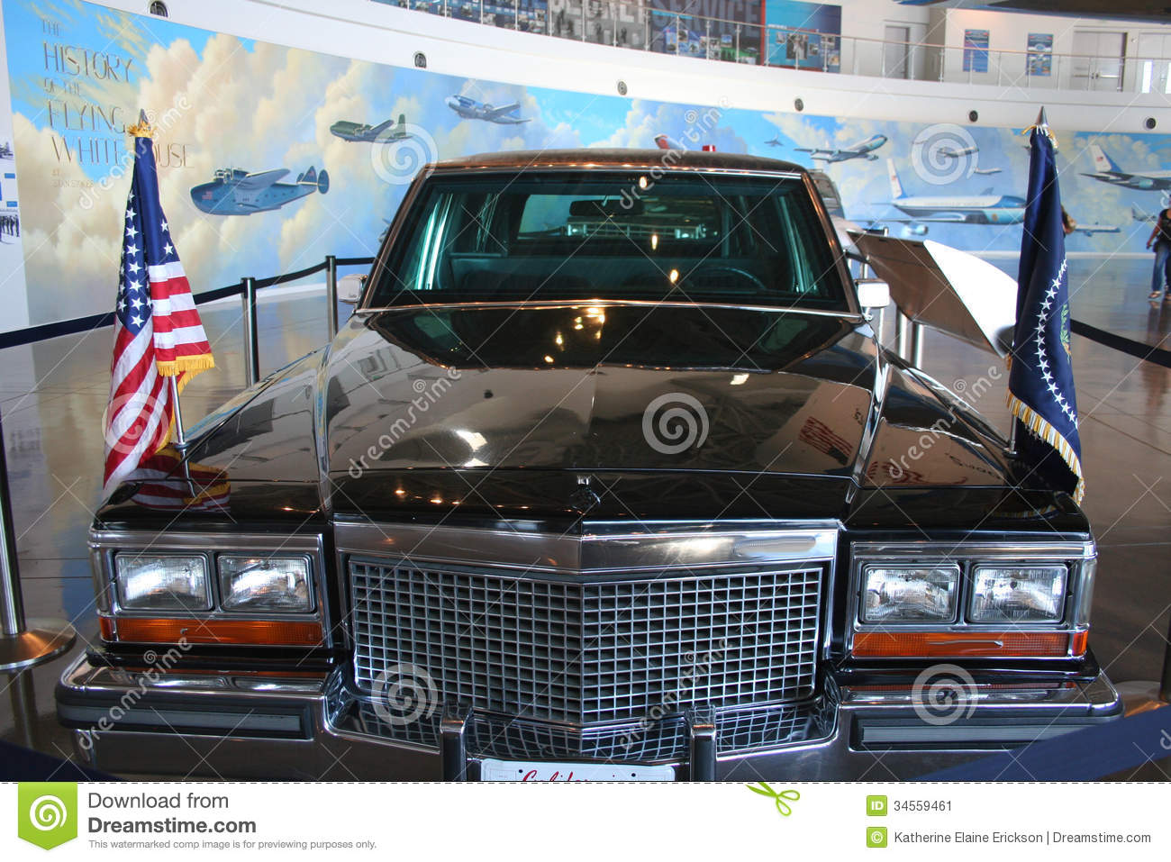 Presidential Limo Editorial Photo - Image: 34559461