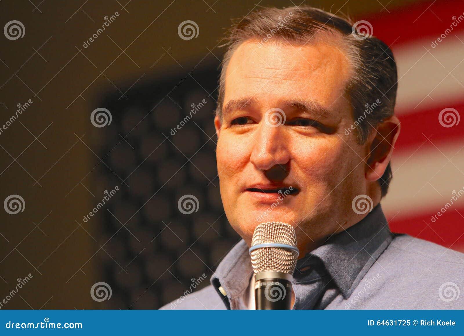 Presidentkandidatsenator Ted Cruz