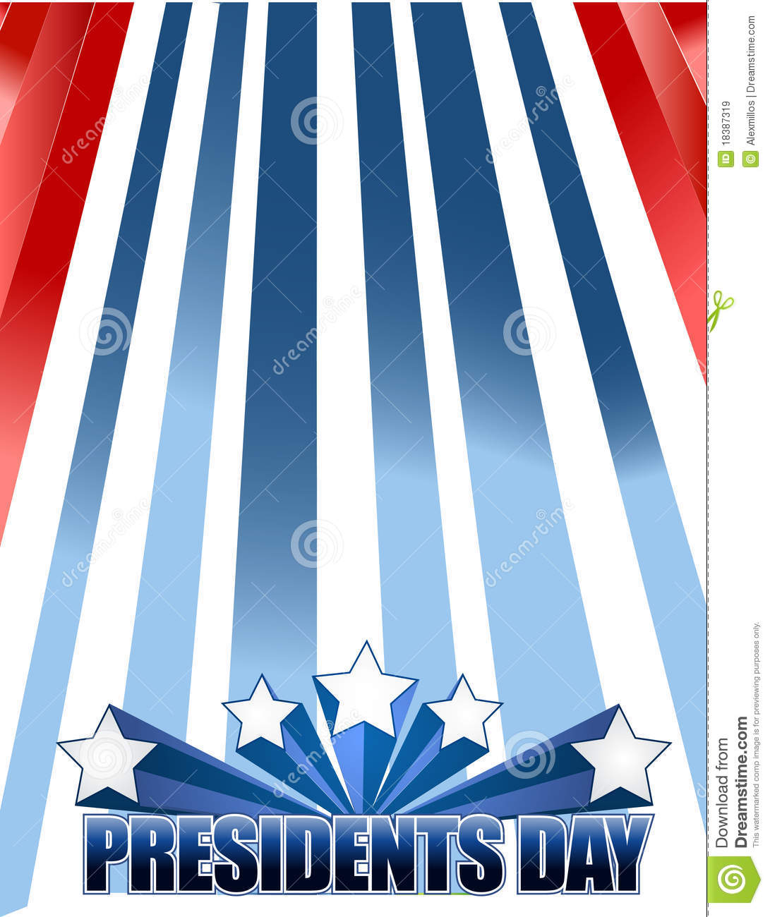 Extended Presidents Day: Presidents Day Stock Vector. Illustration Of Retail