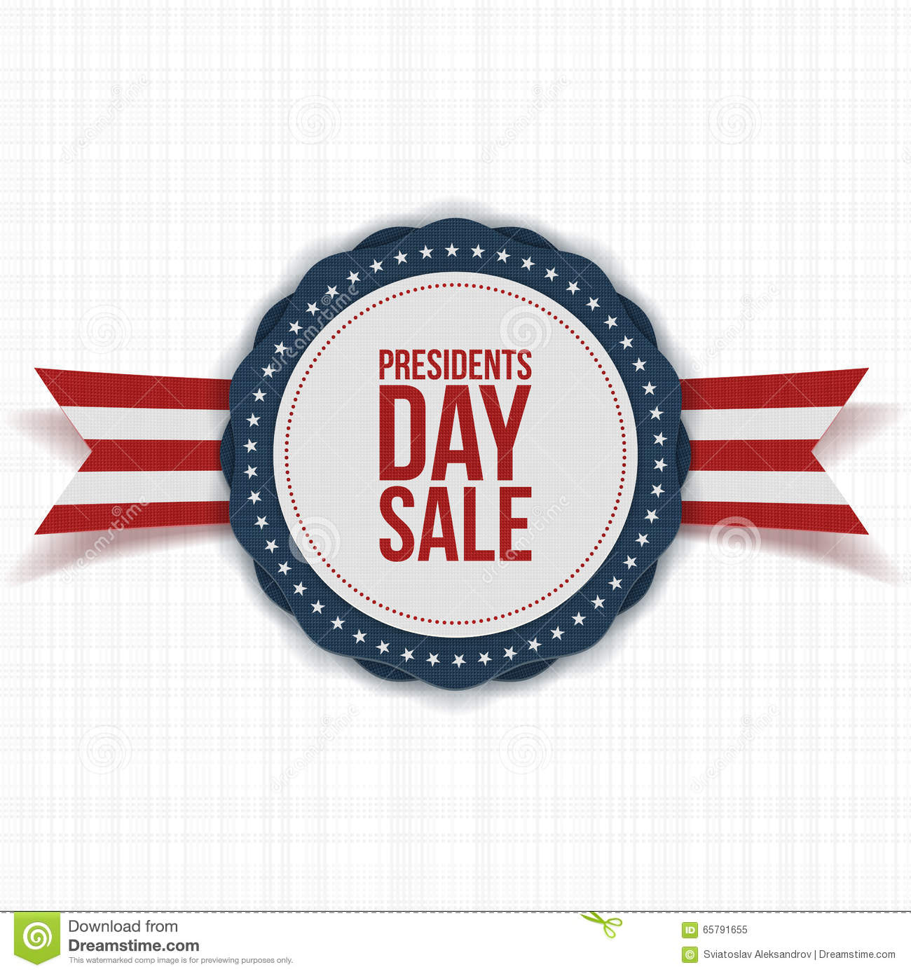 Extended Presidents Day: Presidents Day Sale National Banner With Text Stock